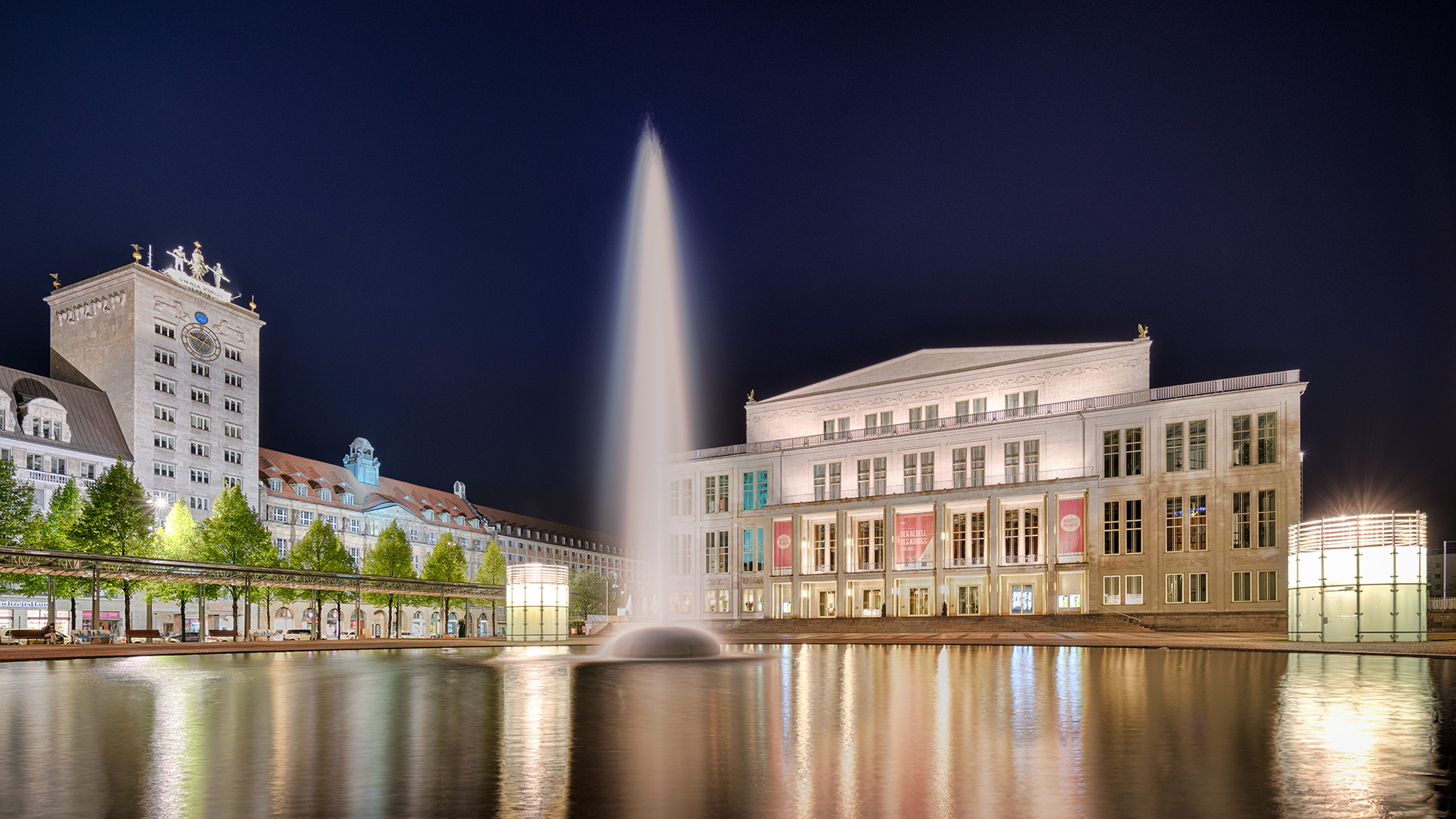 Leipzig Augustusplatz North, Germany