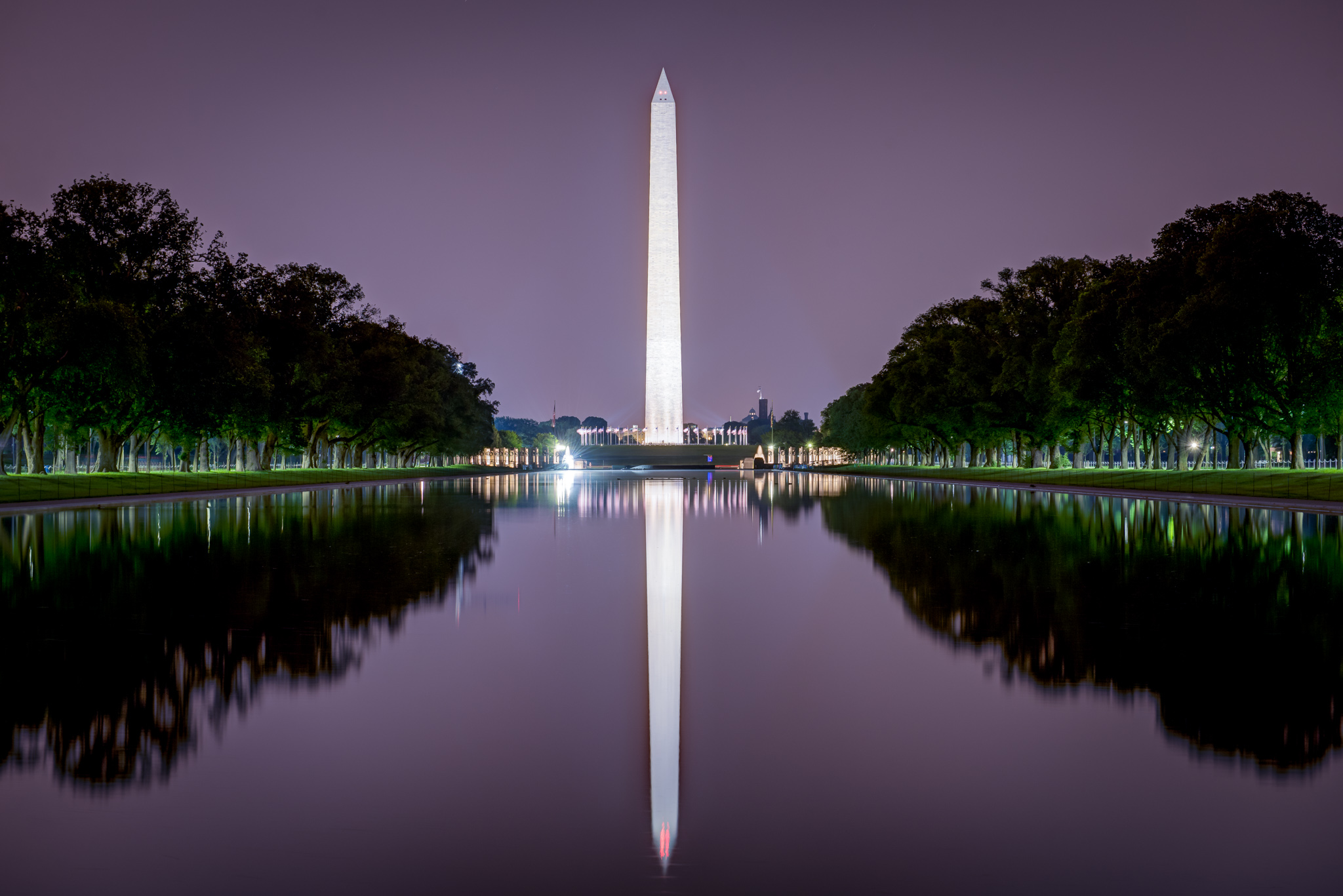 Lincoln Memorial Reflecting Pool, USA