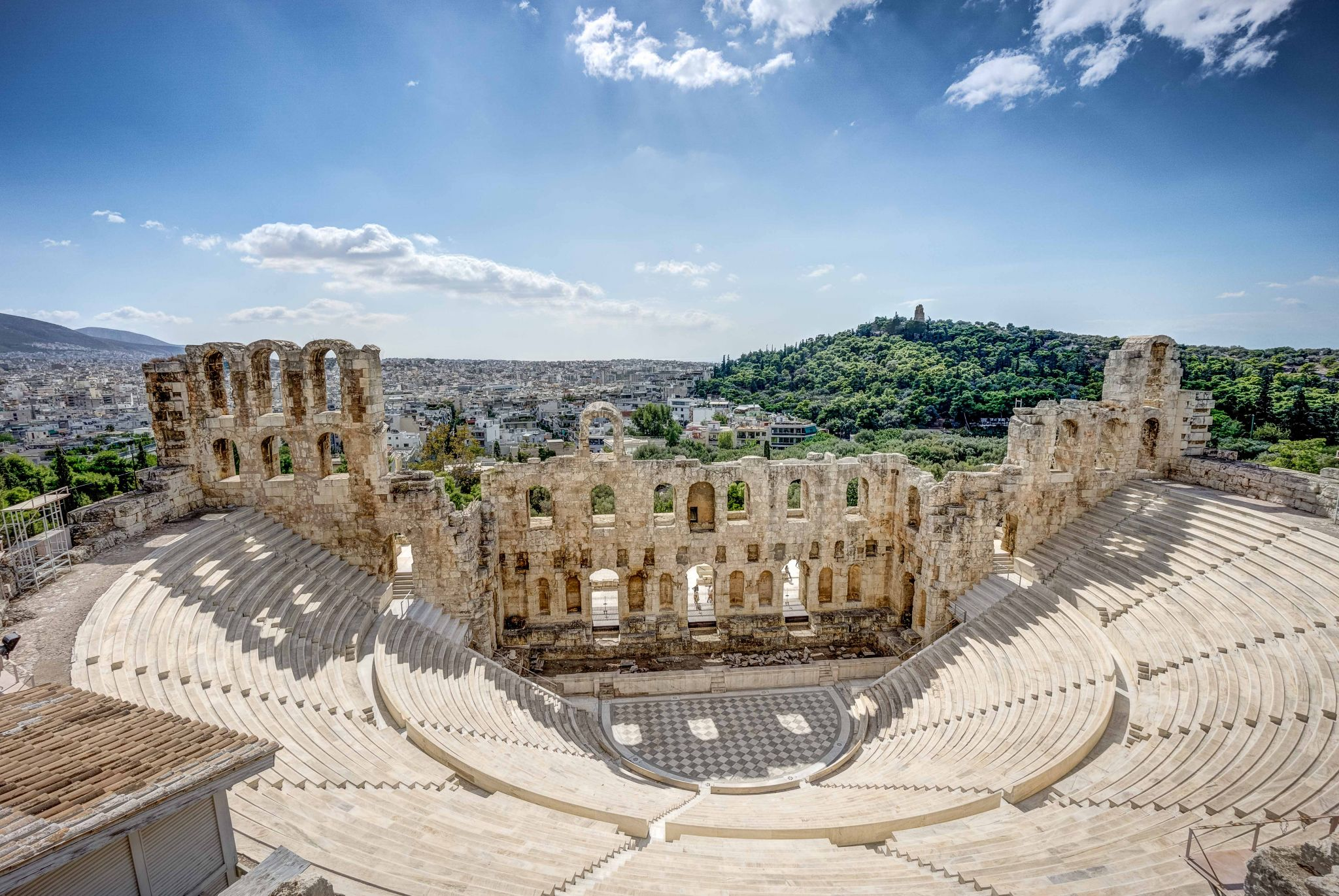 Odeon des Herodes Atticus, Greece