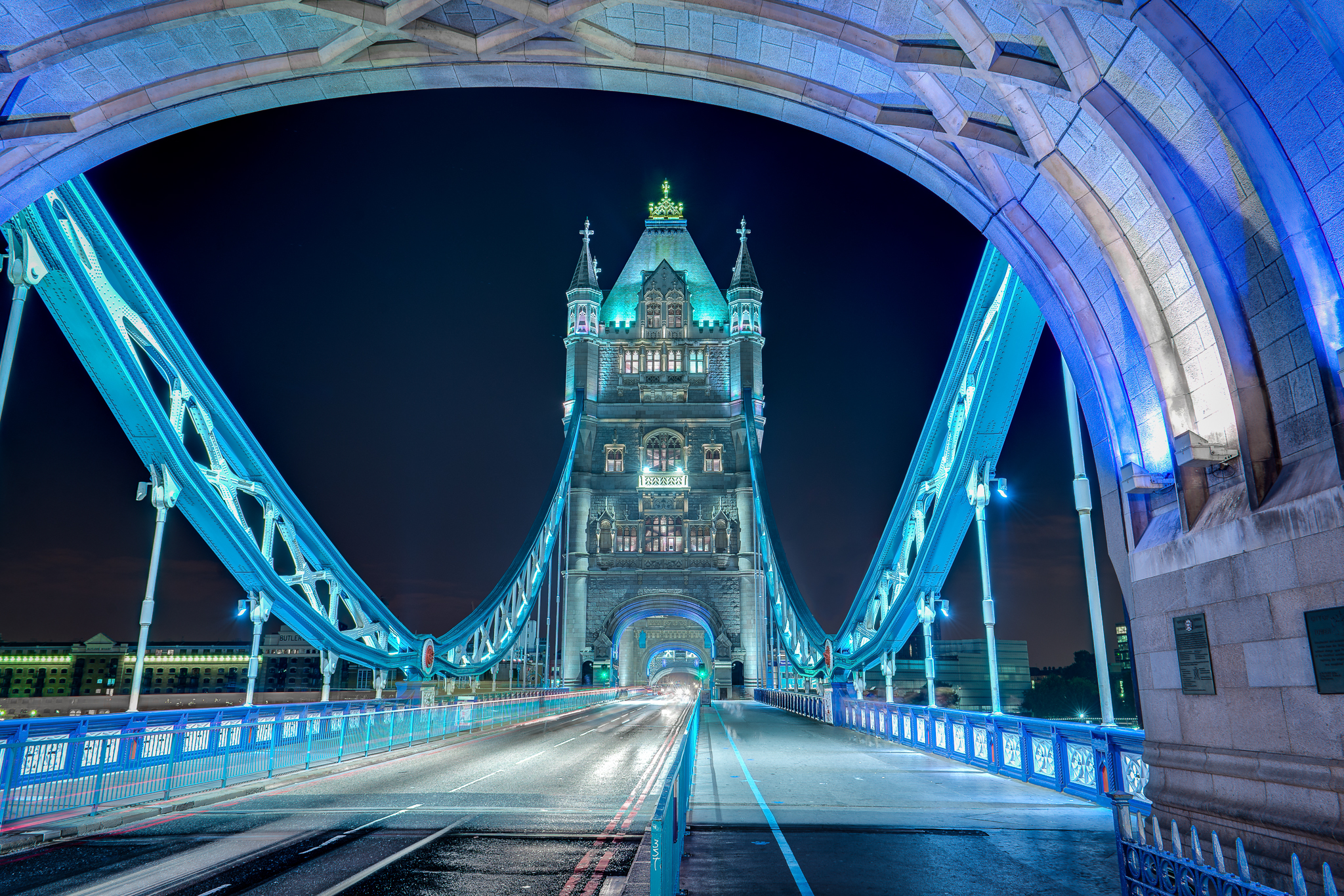 On the Tower Bridge, United Kingdom
