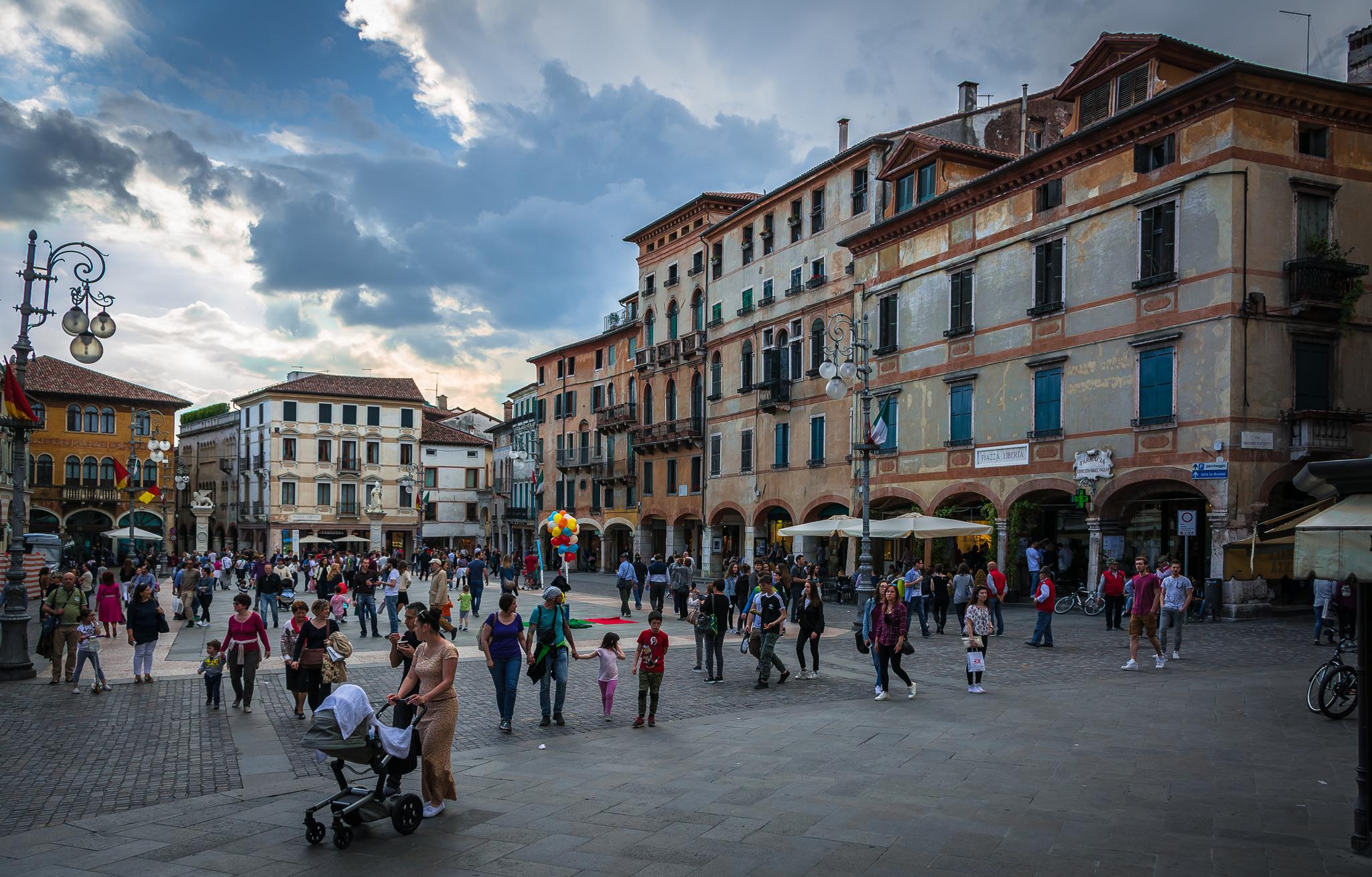 Piazza Libertà, Italy