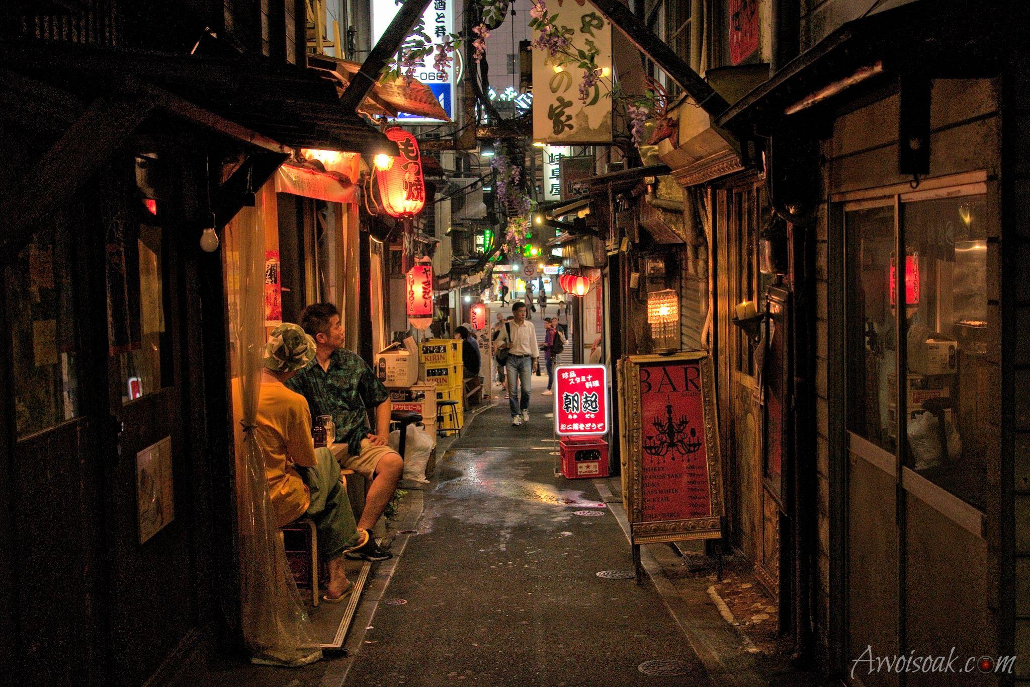 Omoide Yokocho (Piss Alley), Japan