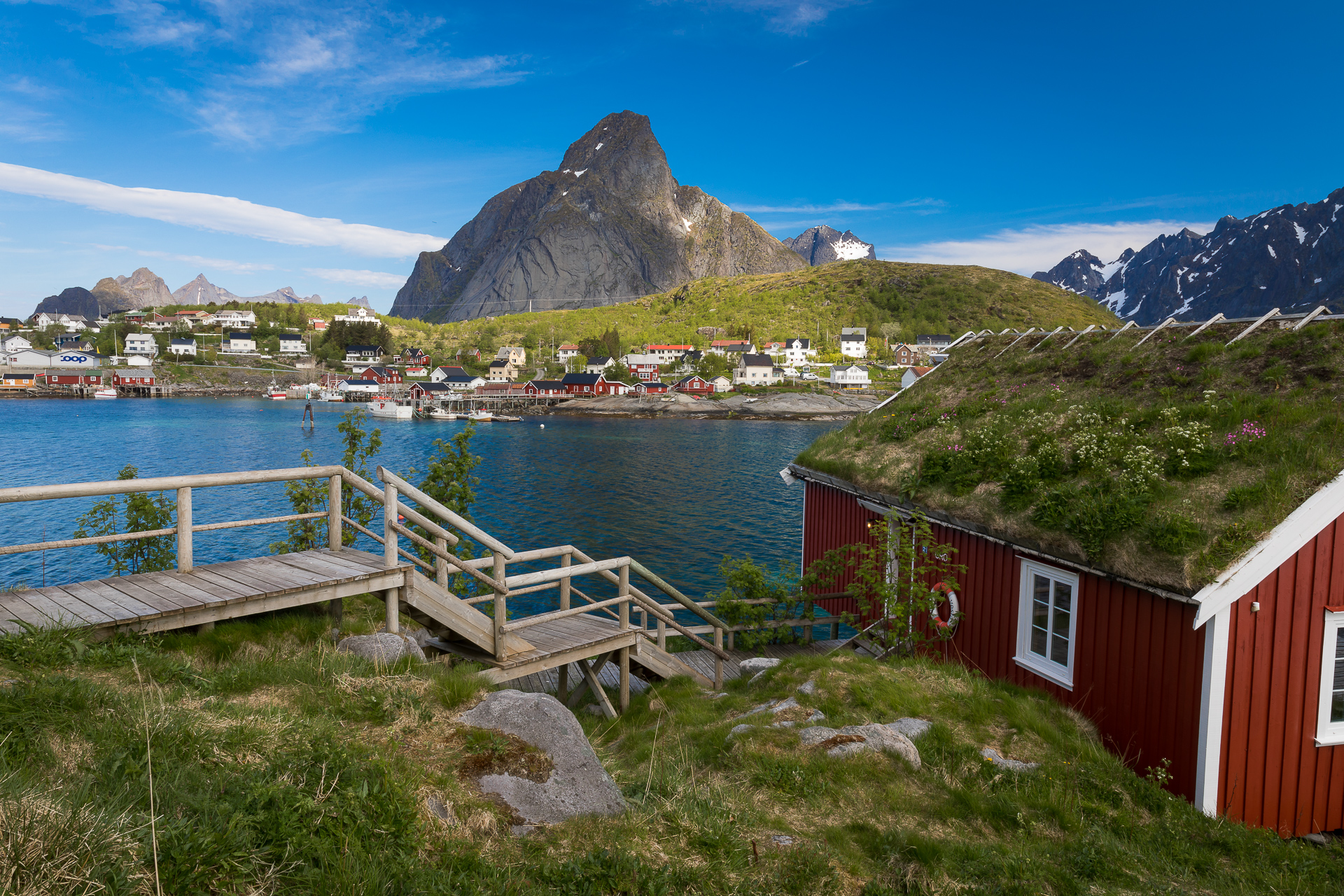 Reine Rorbuer, Norway