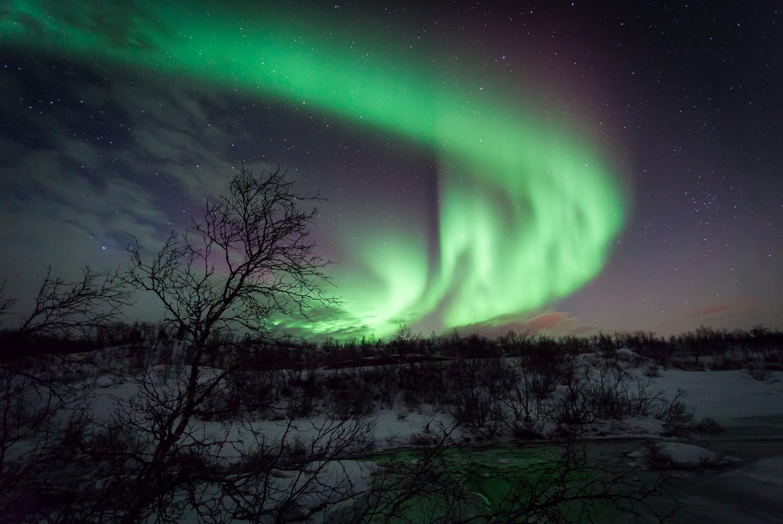 Ringvassøya - Northern lights spot, Norway