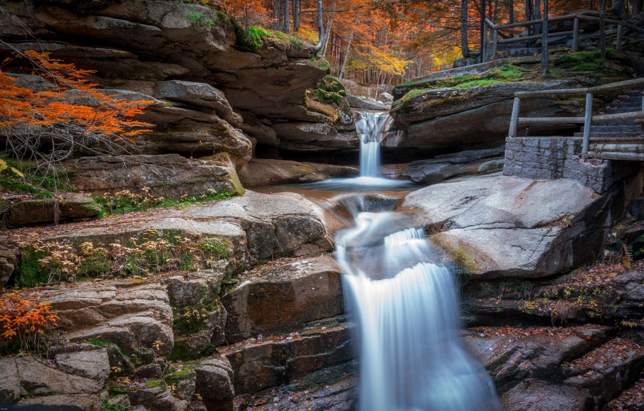 Sabbaday Falls, USA