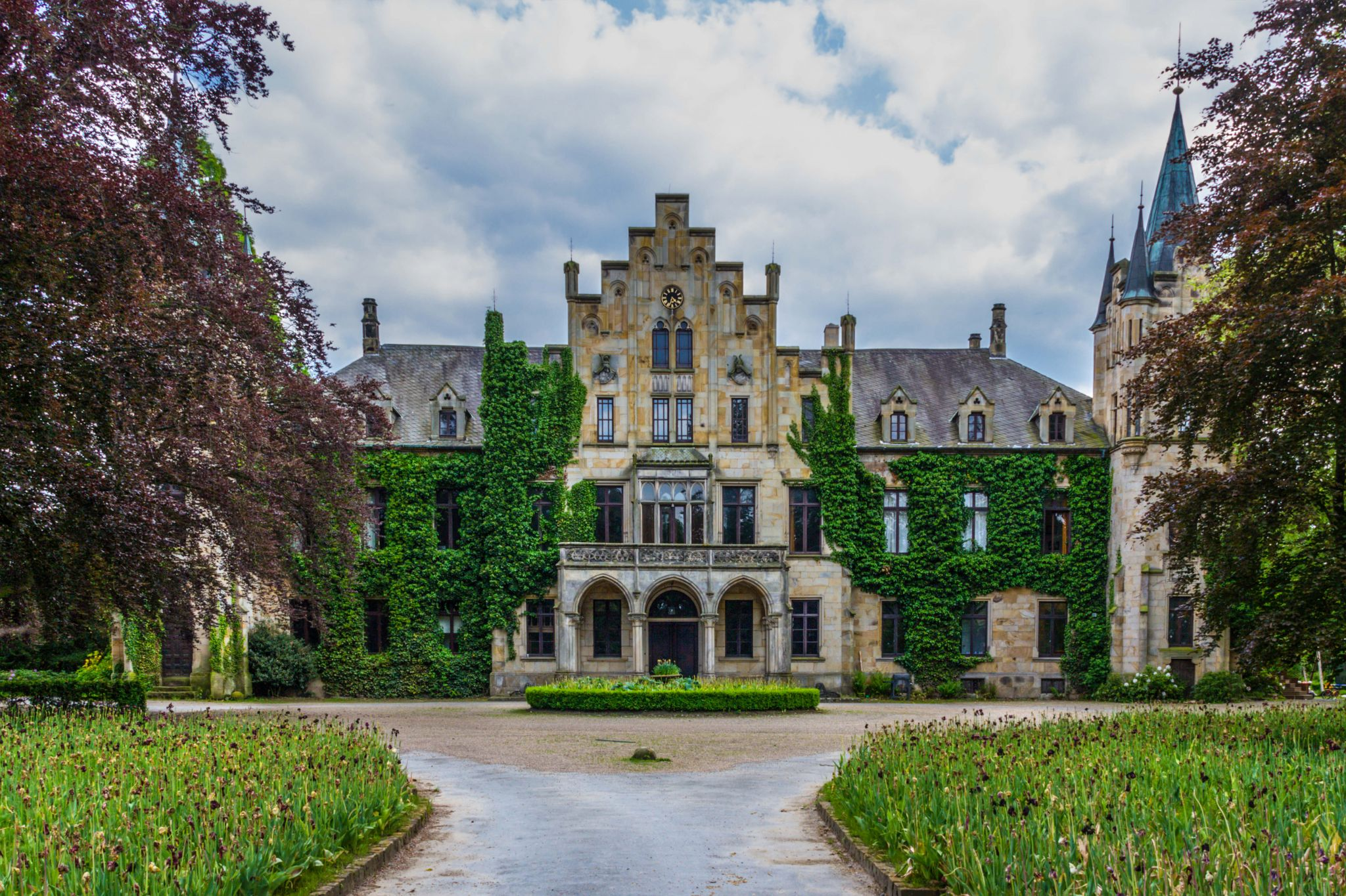 Schloss Ippenburg, Front, Germany