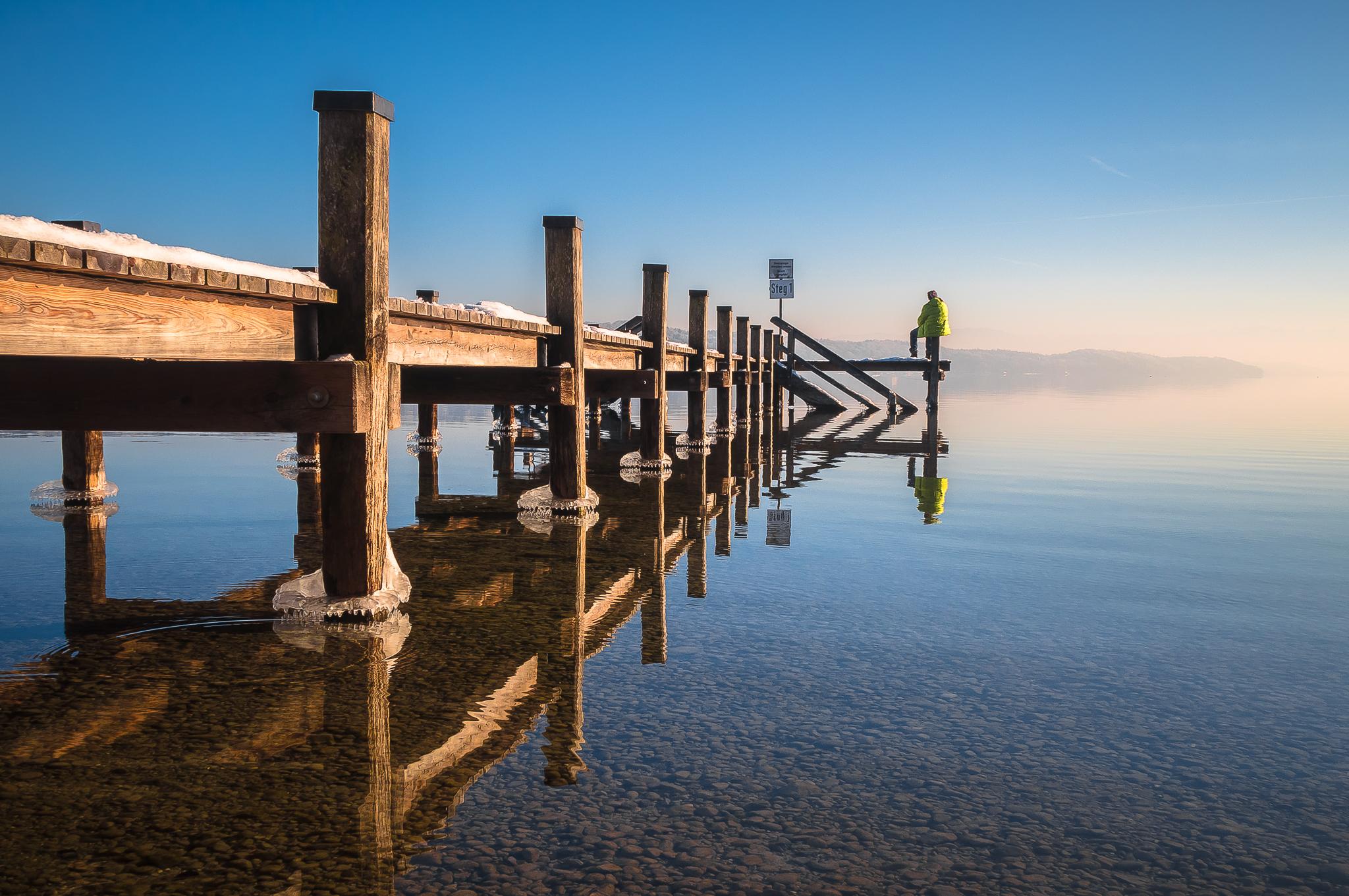 silence at starnberg lake, Germany