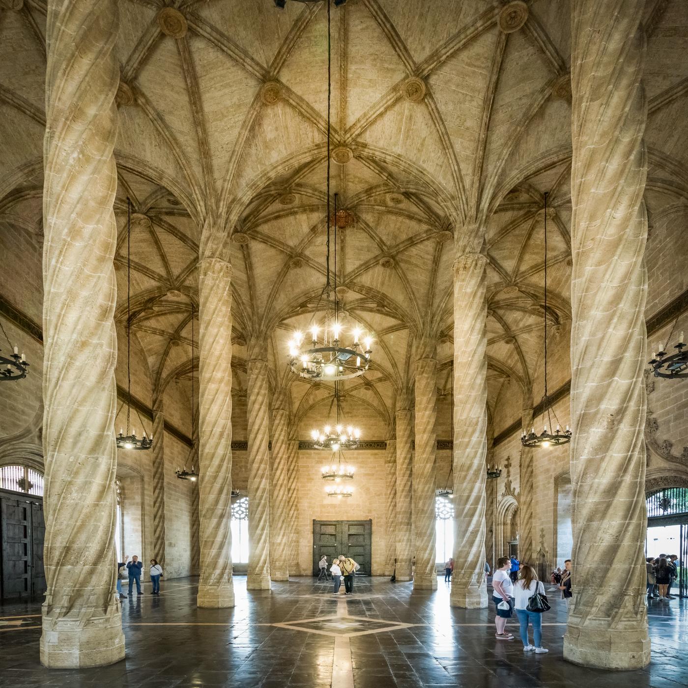 Silk Exchange, Spain