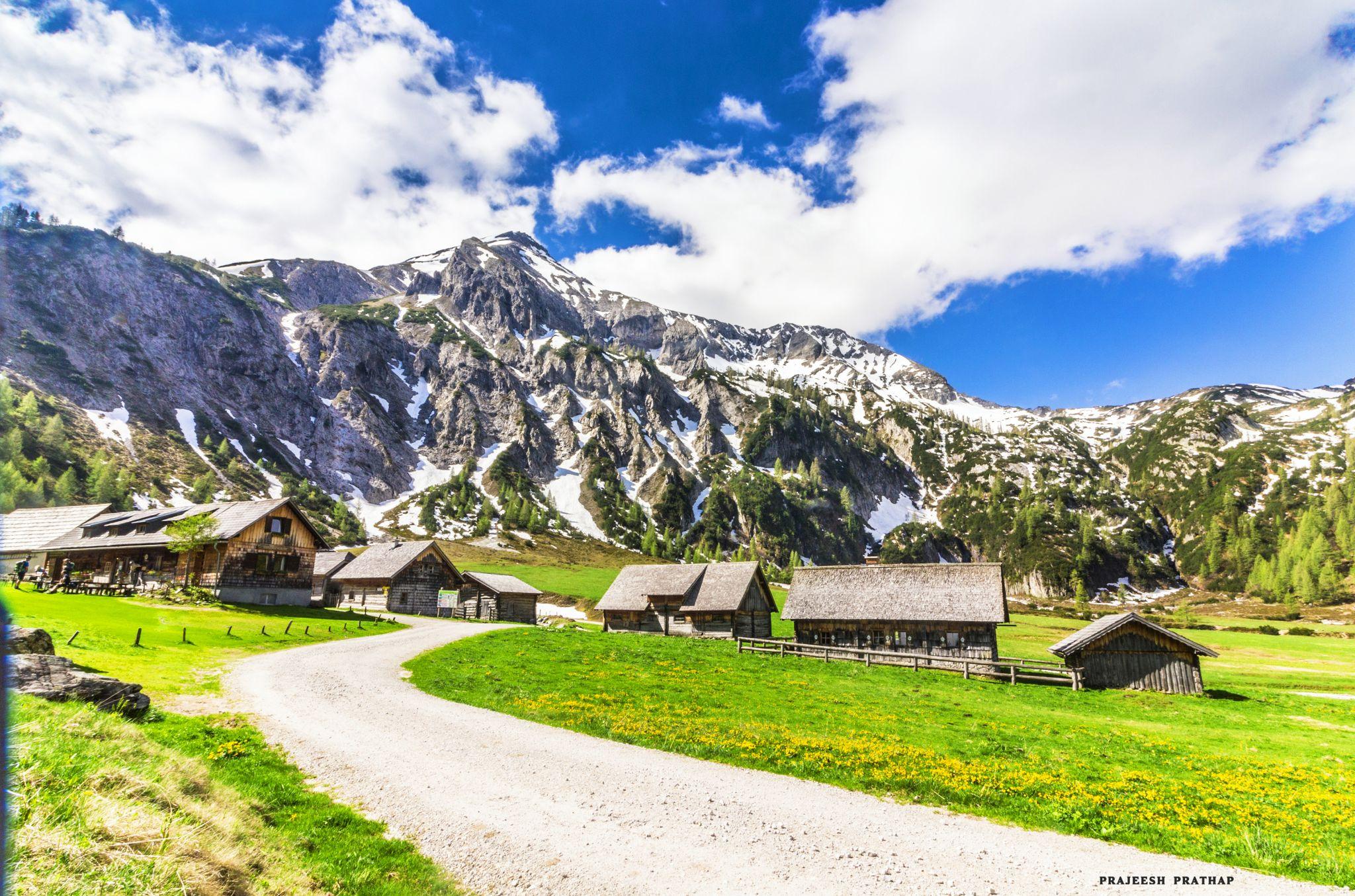 Steirlschen kalkspitze in the Schladminger Tauern, Austria