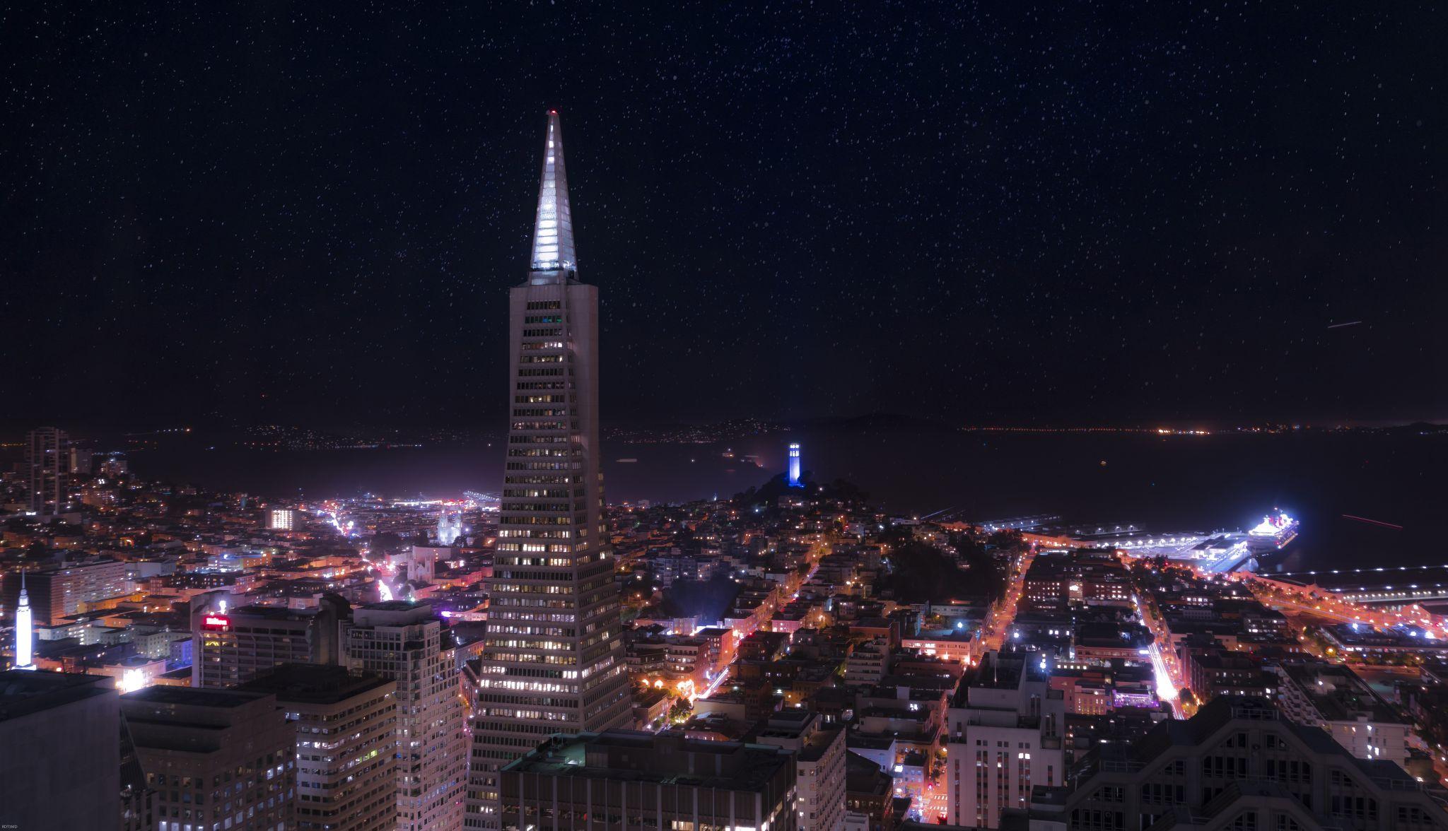 Transamerica from Loews Regency San Francisco, USA