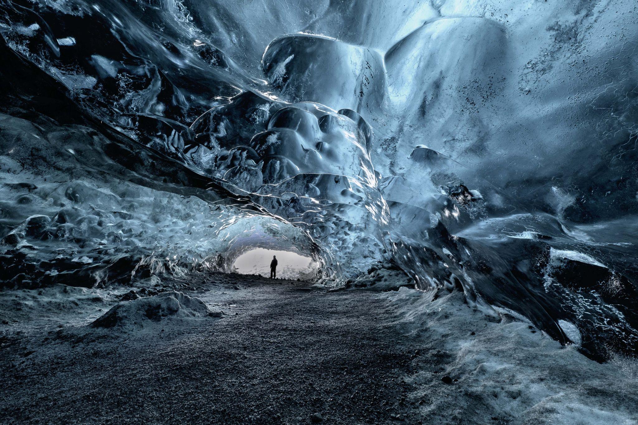 Vatnajokull Icecave, Iceland