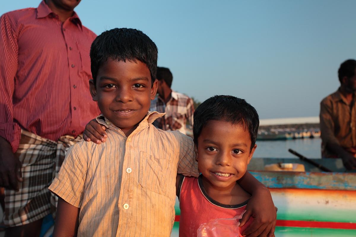 Vizhinjam fishing harbour, India