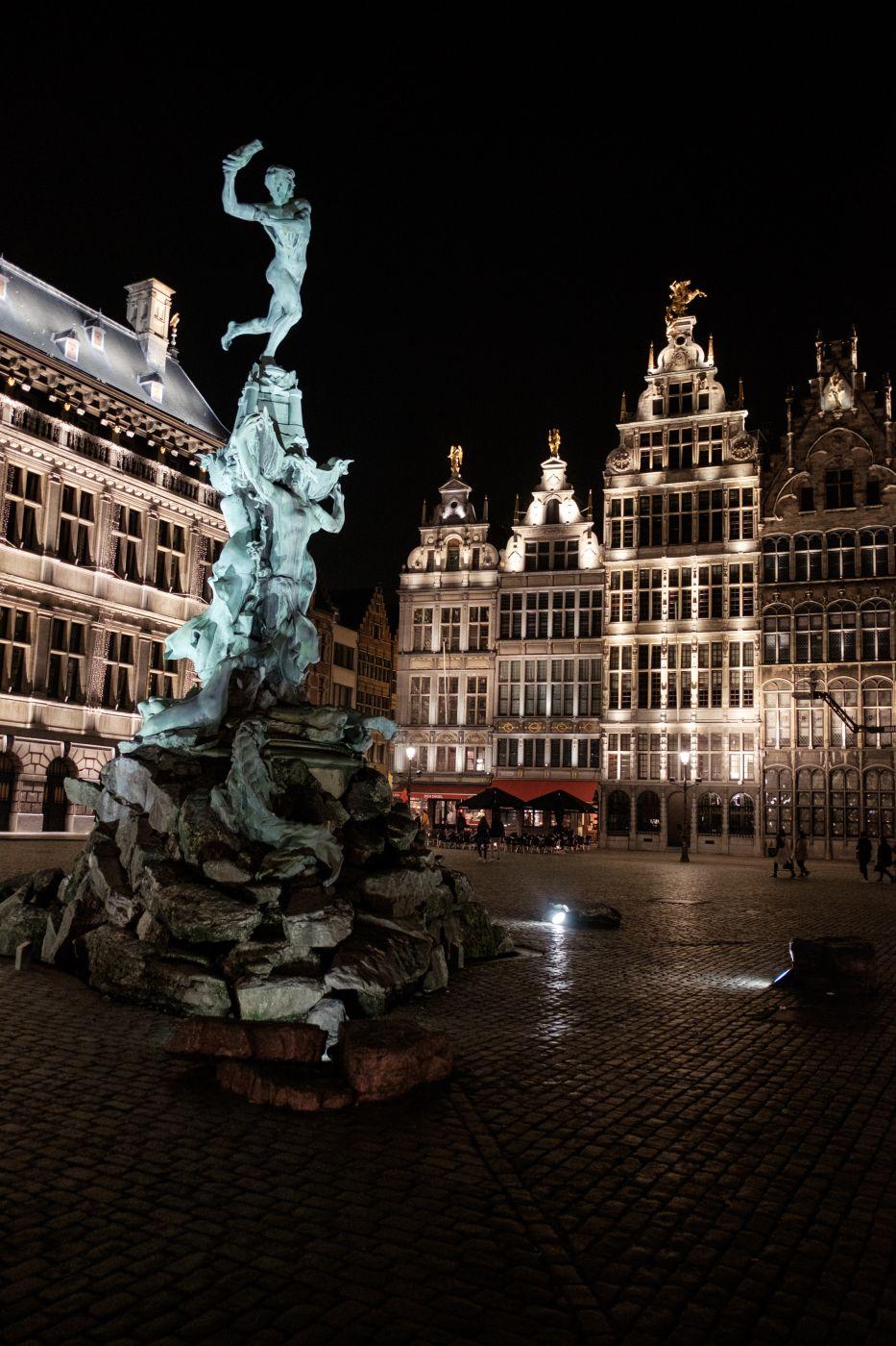 Antwerpen Grote Markt (Town square), Belgium