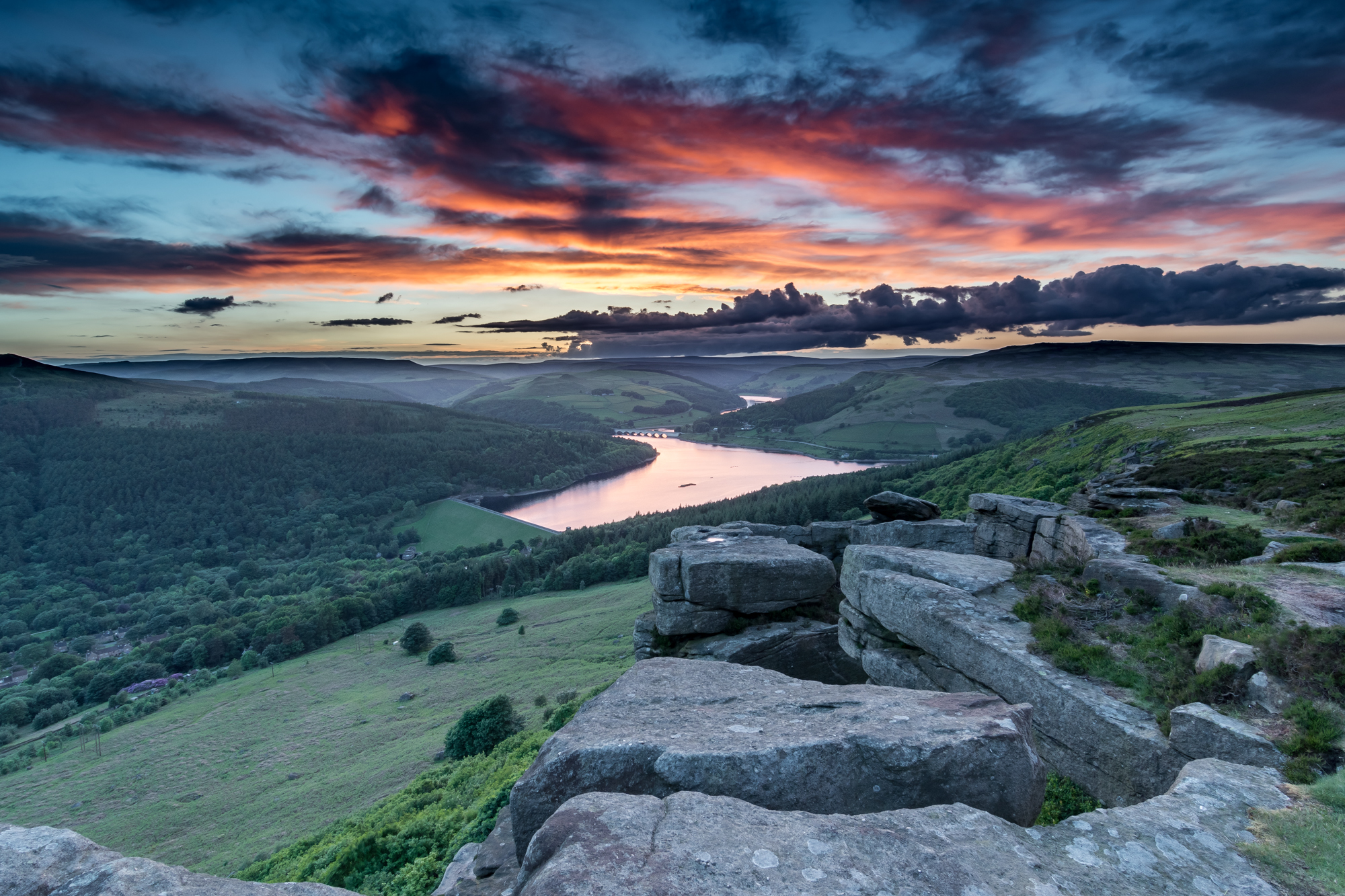 Bamford Edge - Peak District National Park, United Kingdom
