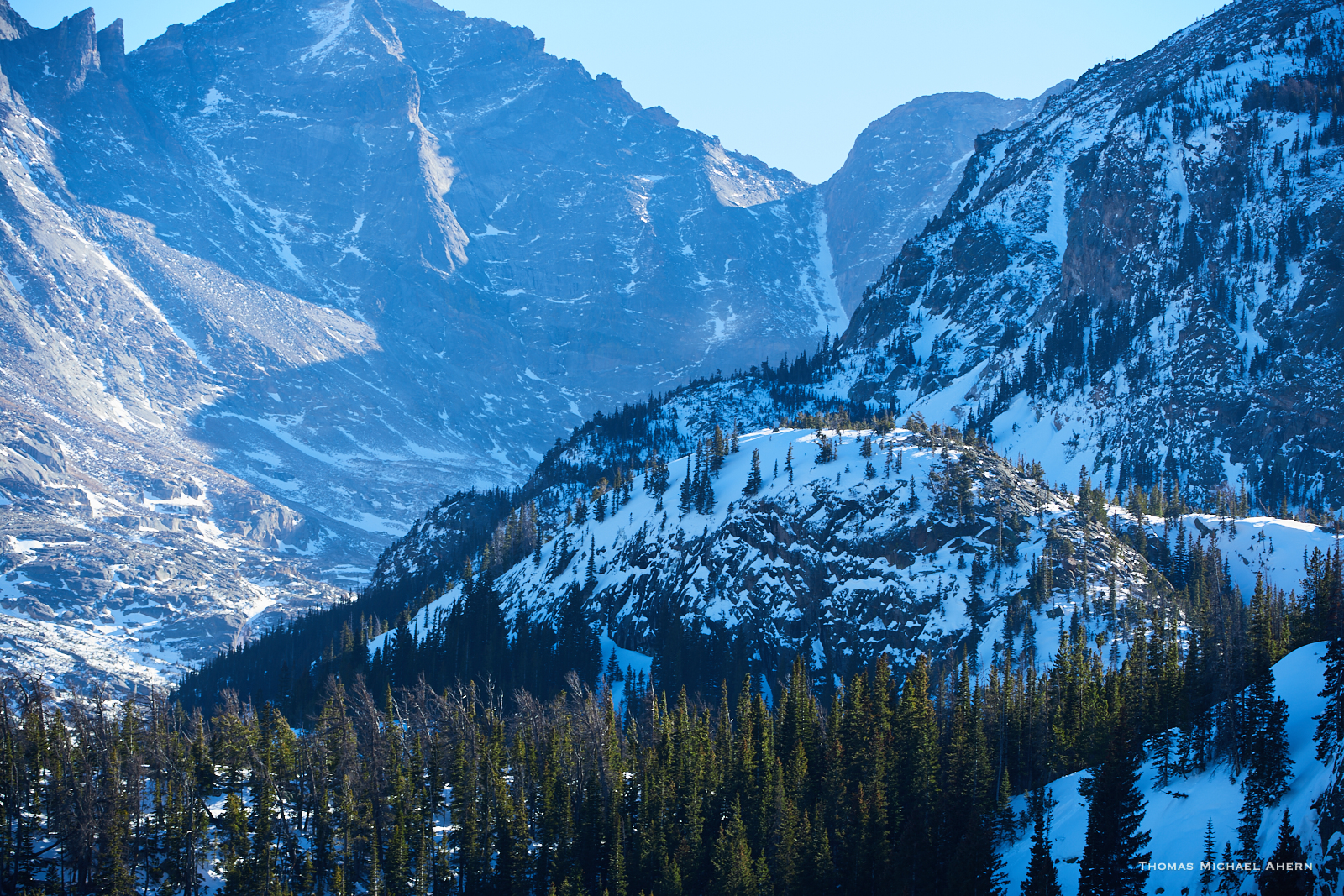 Bear lake trail, USA