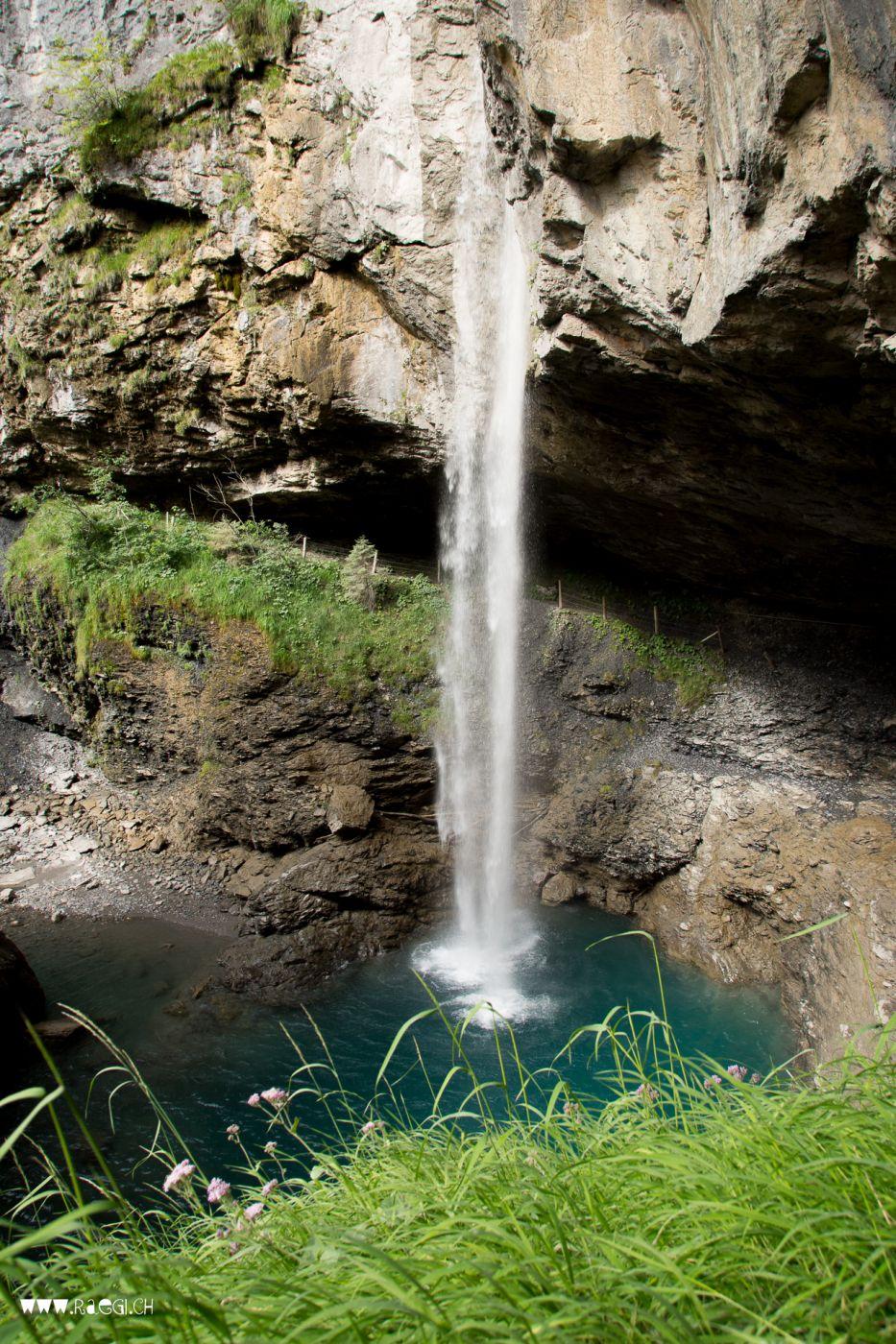 Bergli Stüber Waterfall, Switzerland