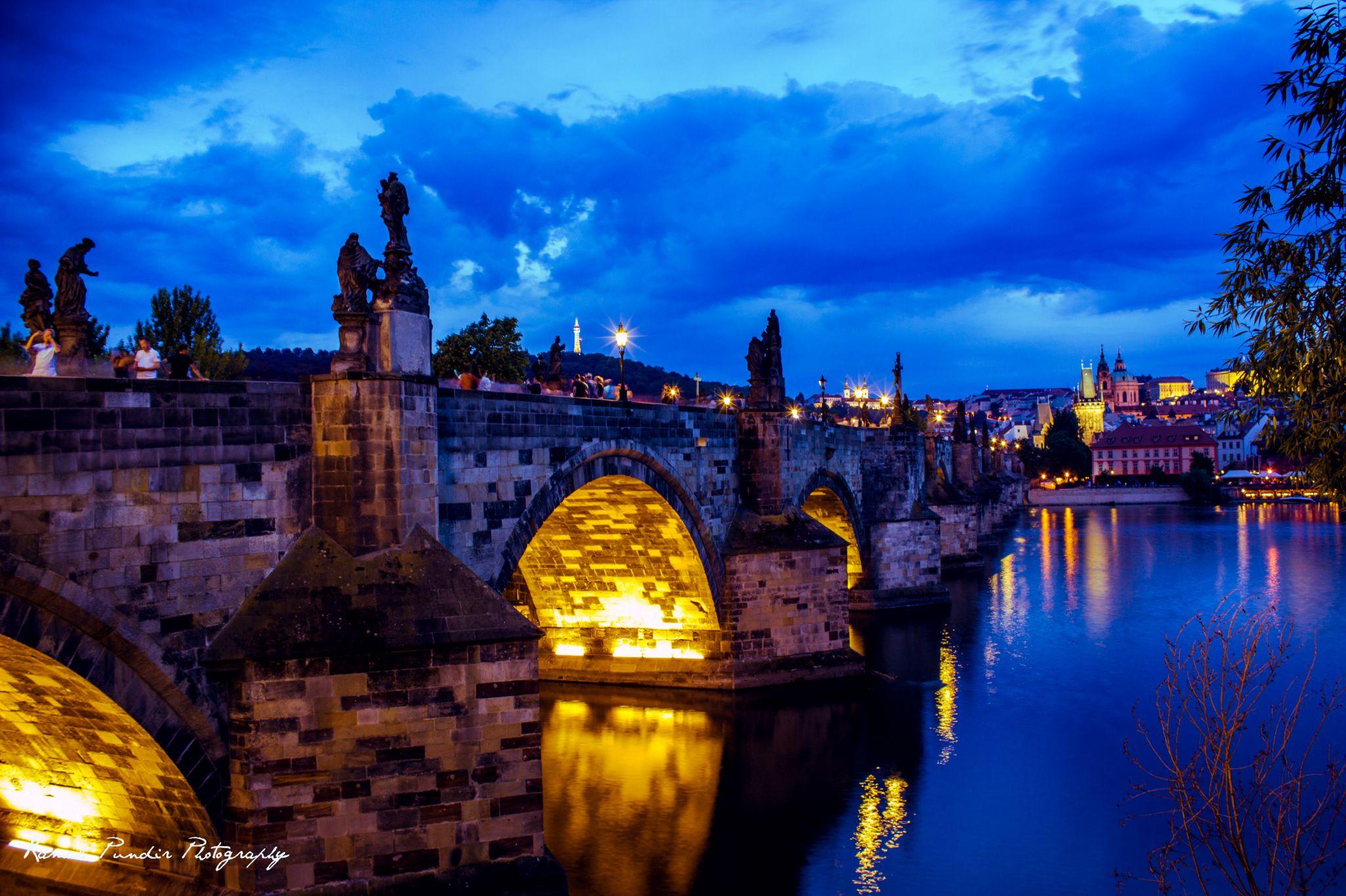 Charles Bridge and Royal Castle, Czech Republic