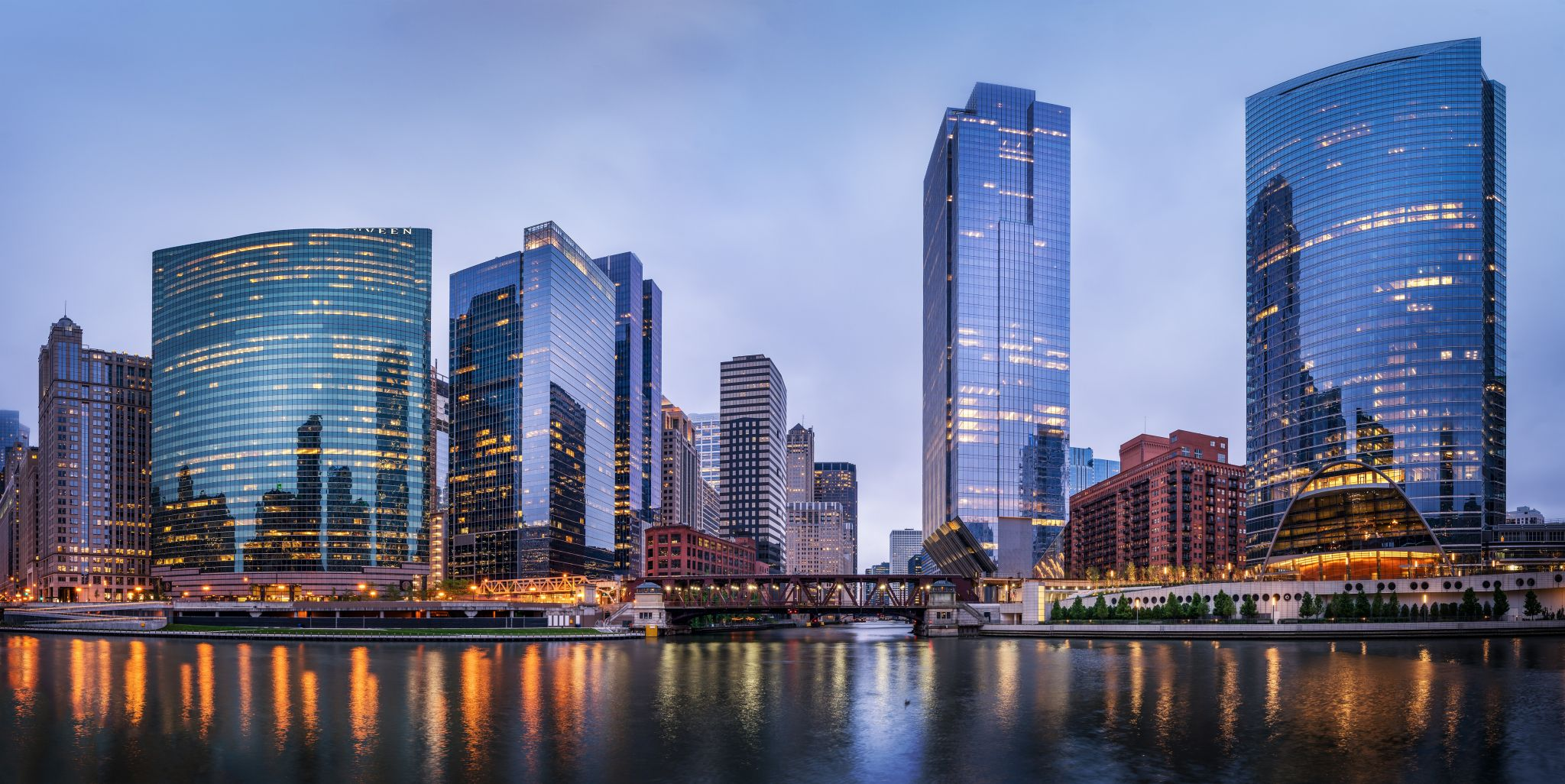 Chicago River Junction, USA