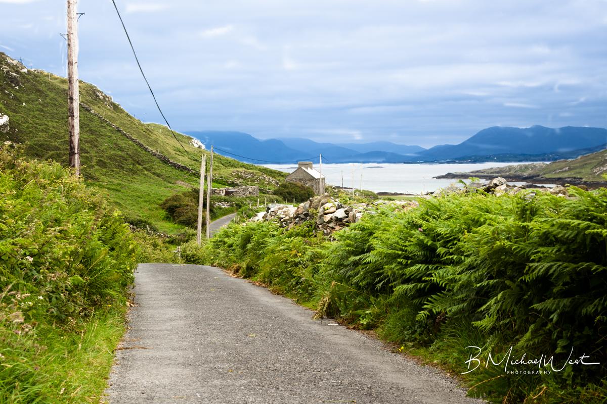 Connemara Coast from Knock, Inishbofin, CO. Galway, Ireland