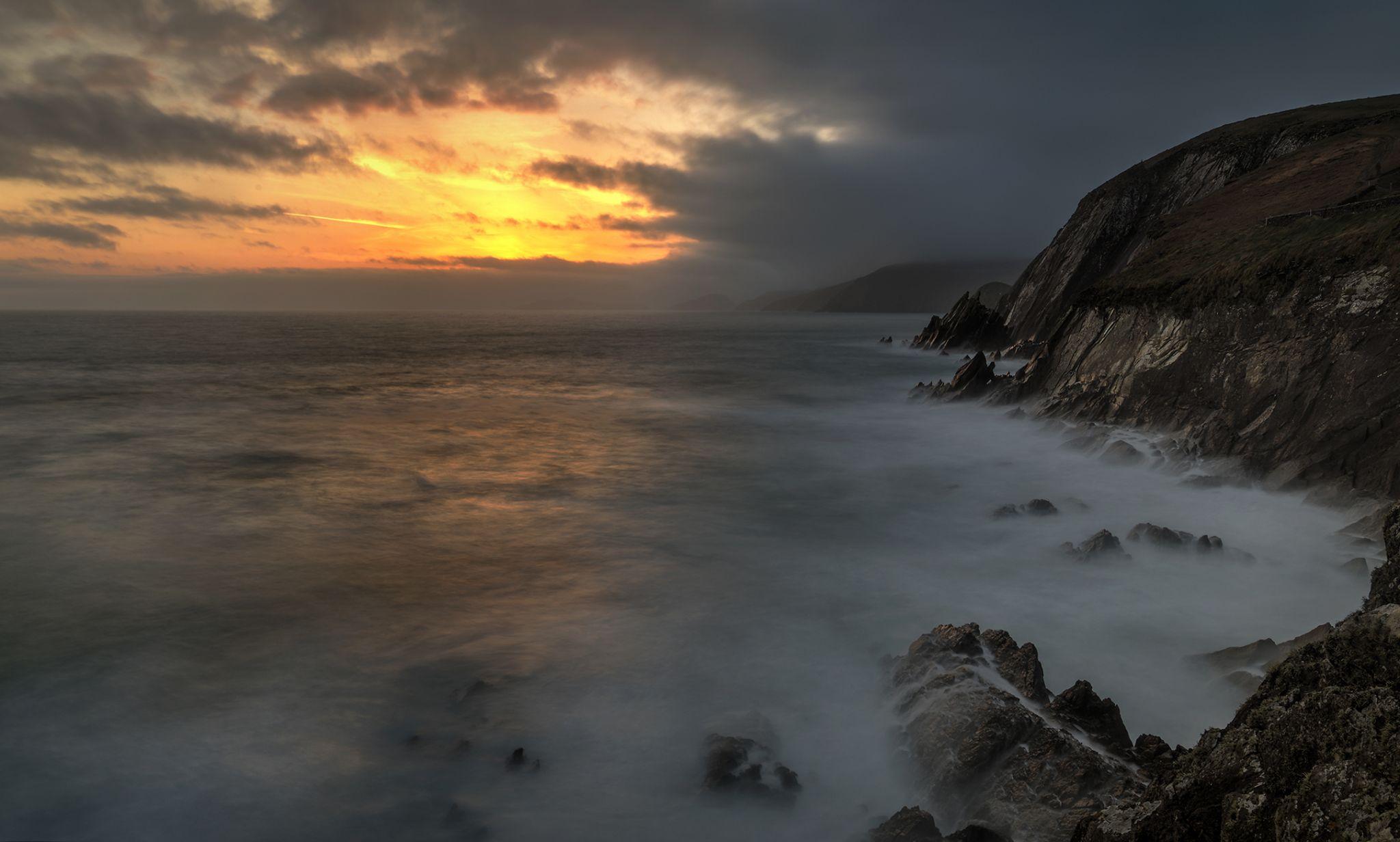 Coomeenoule Sunset, Ireland