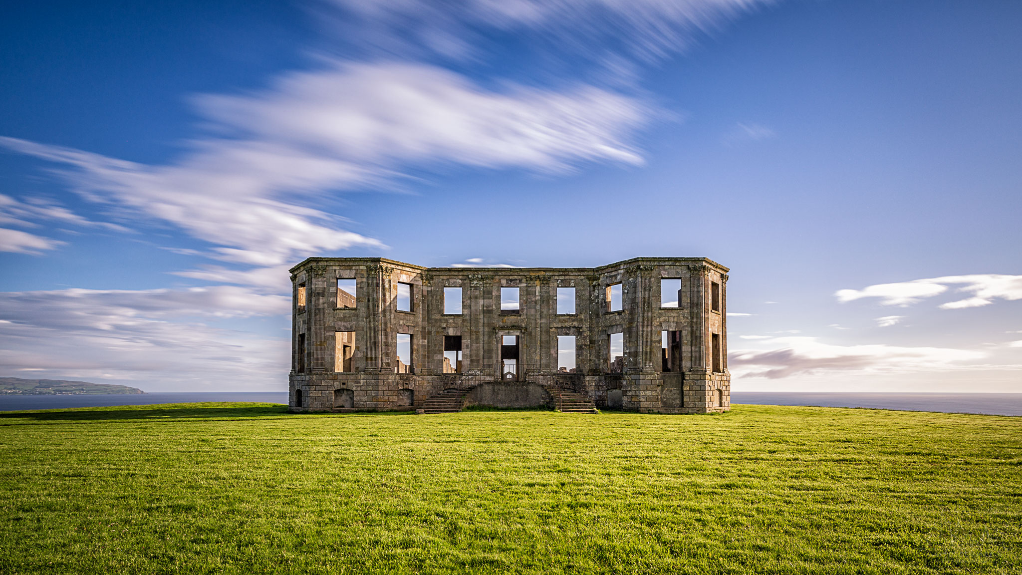 Downhill Demesne ruin, United Kingdom