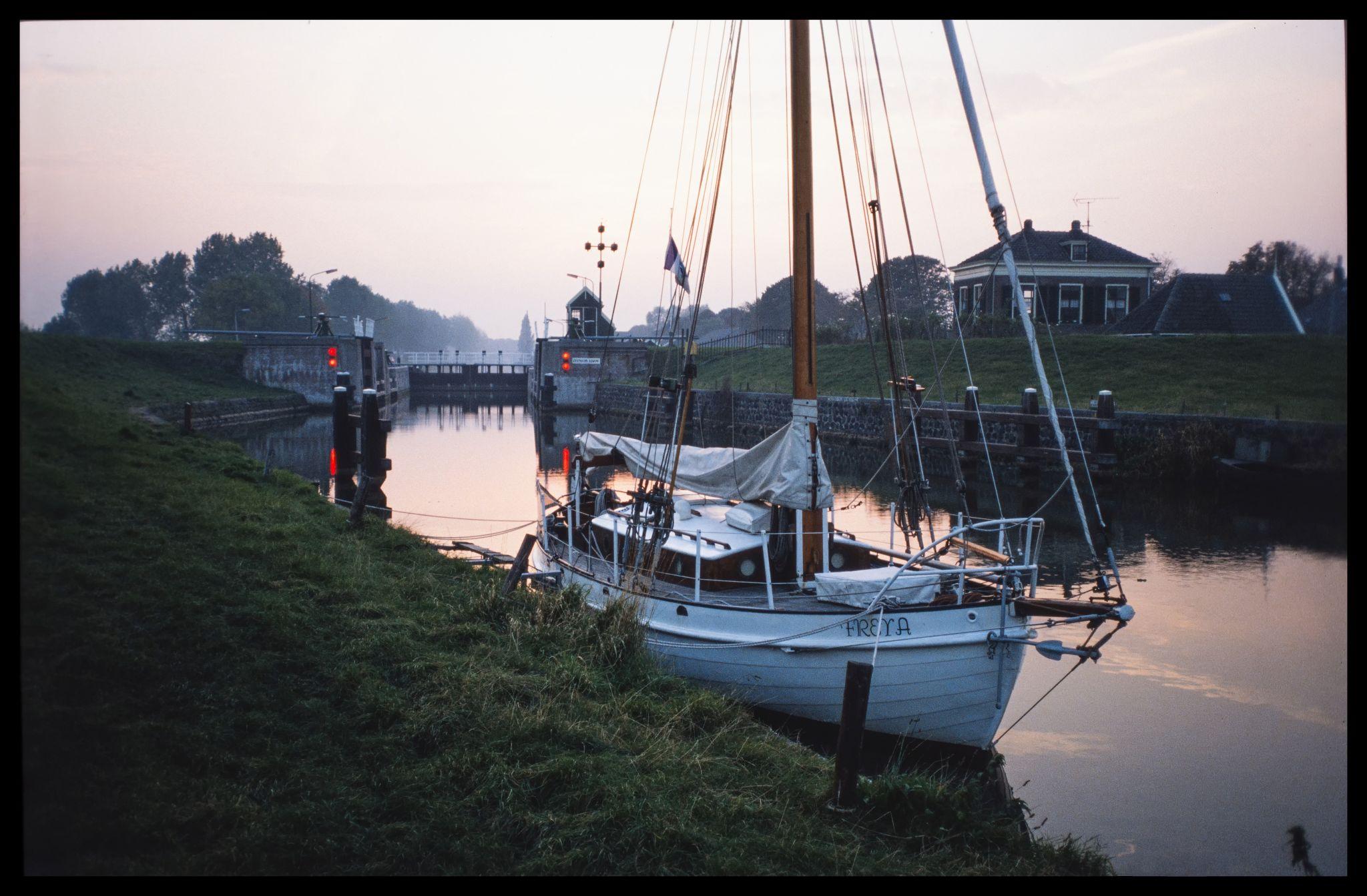 Edam Zeesluis (sea lock), Netherlands