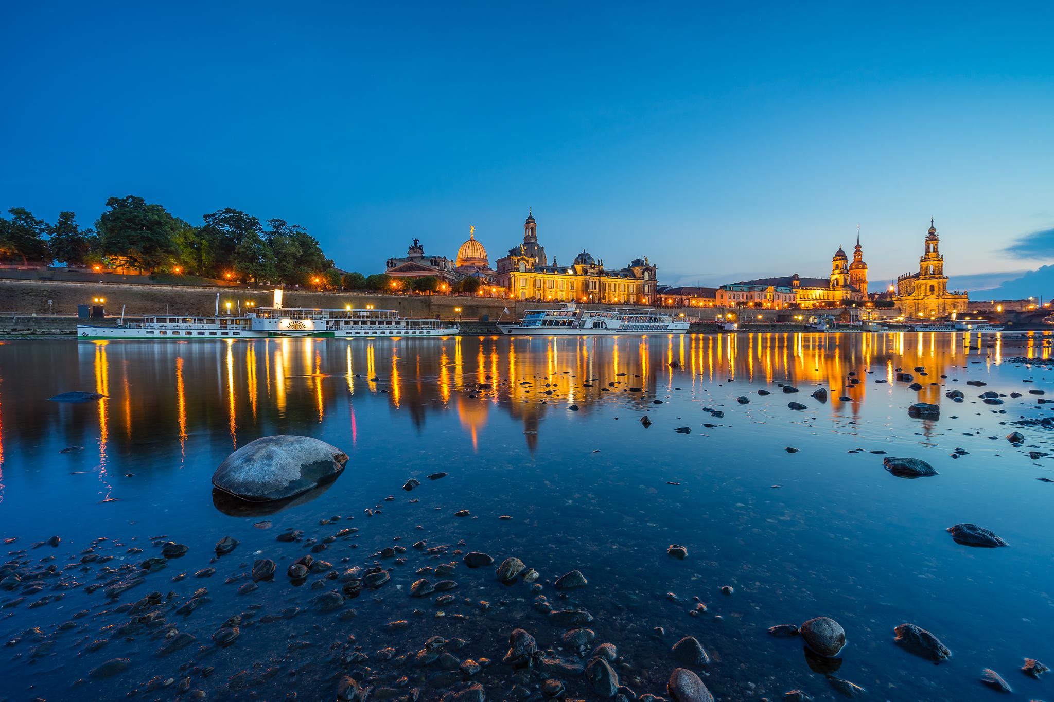 Elbe, Dresden, Germany
