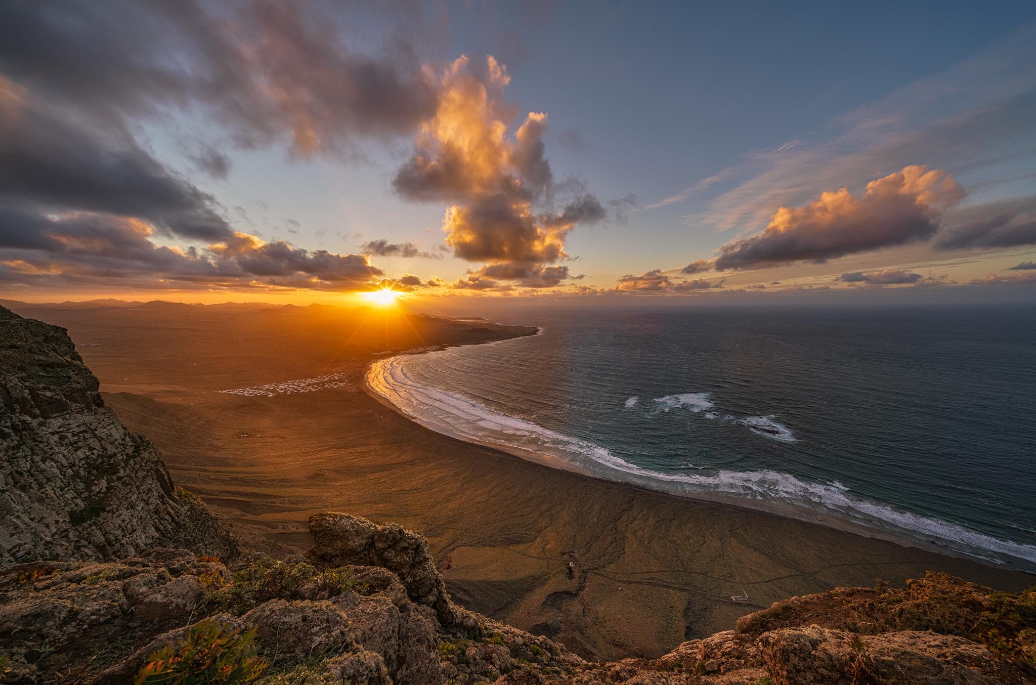 Famara Cliff, Spain