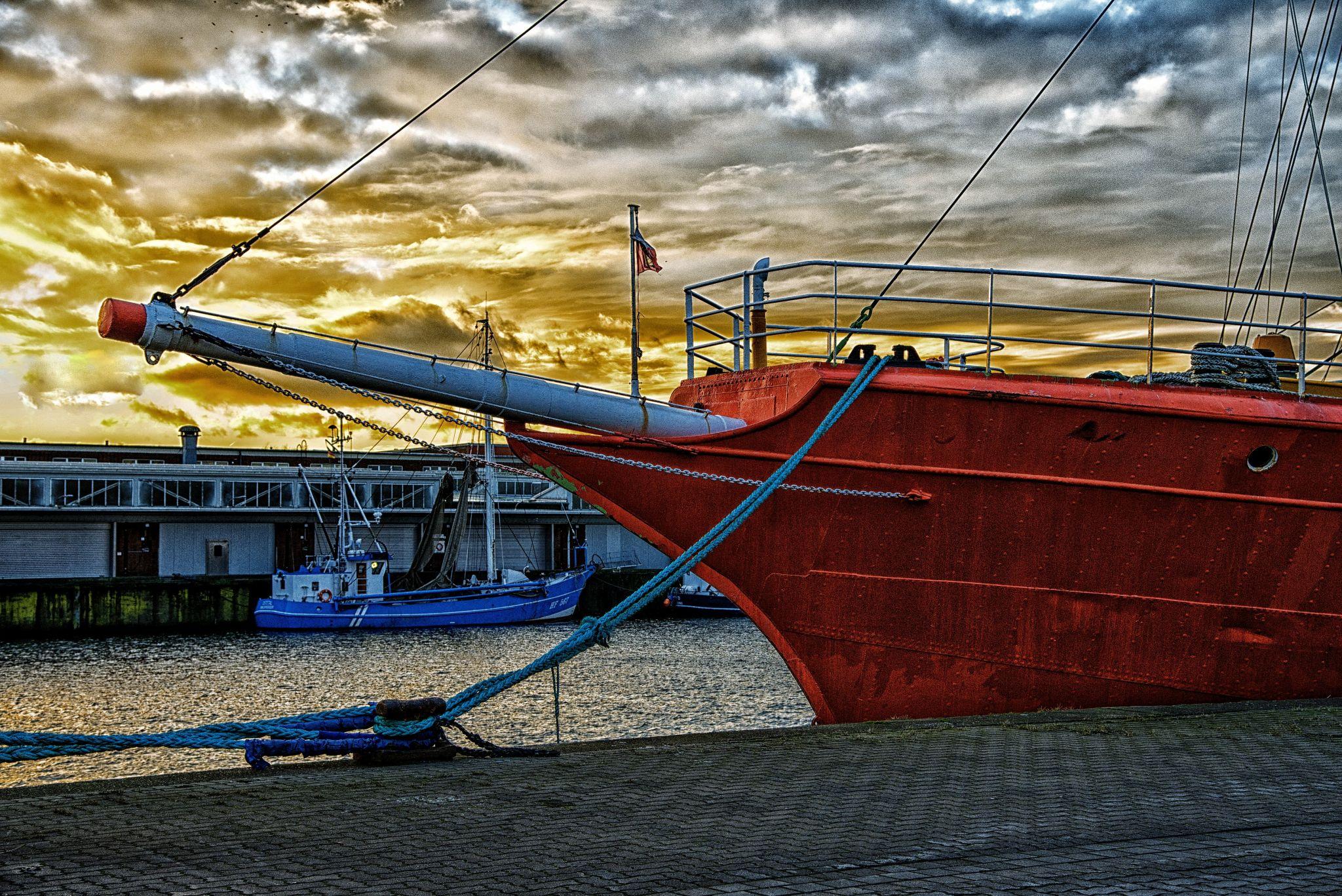 Feuerschiff Elbe 1 - light ship, Germany