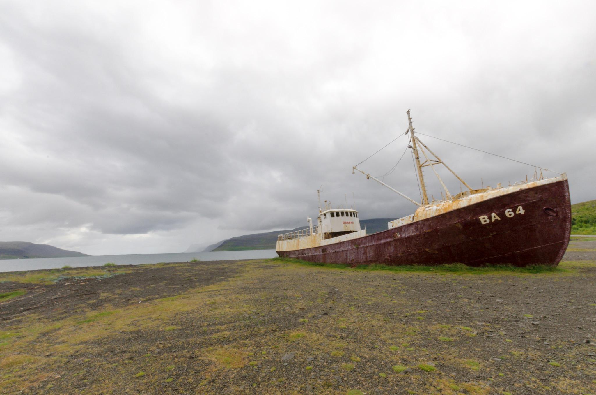 Gardar  BA 64, Iceland