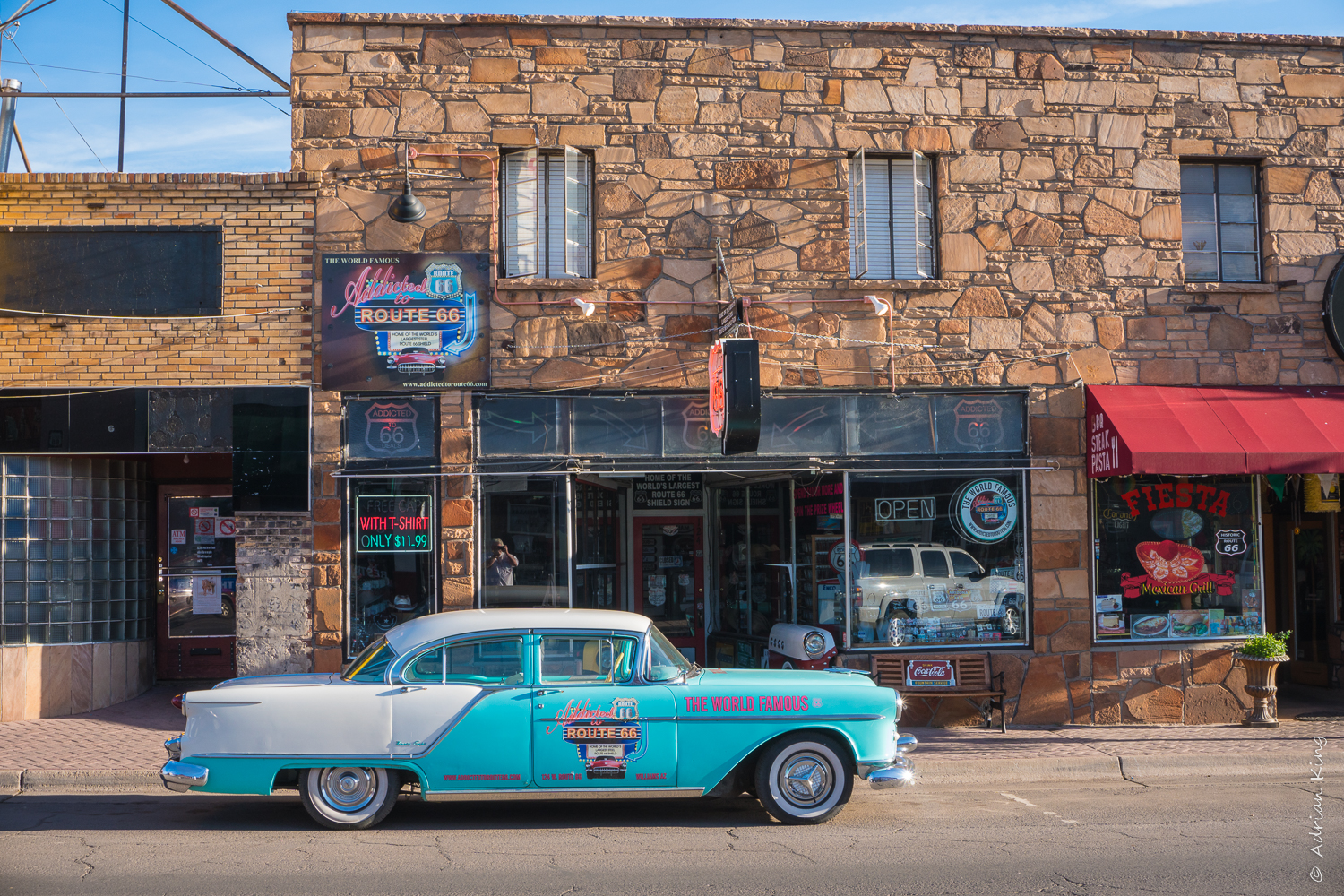 Grand Canyon Hotel on Route 66, USA