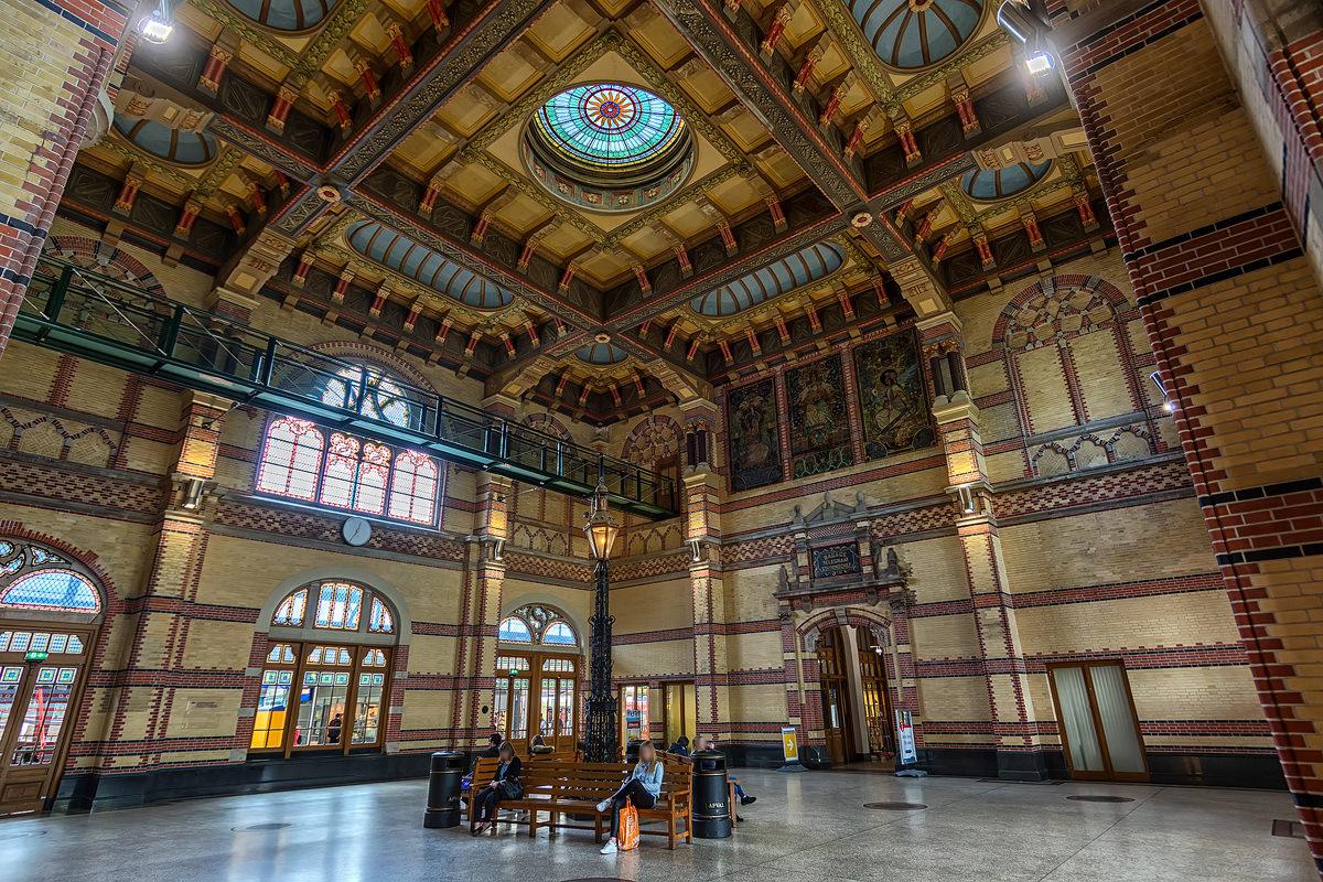 Groningen, Station, Netherlands