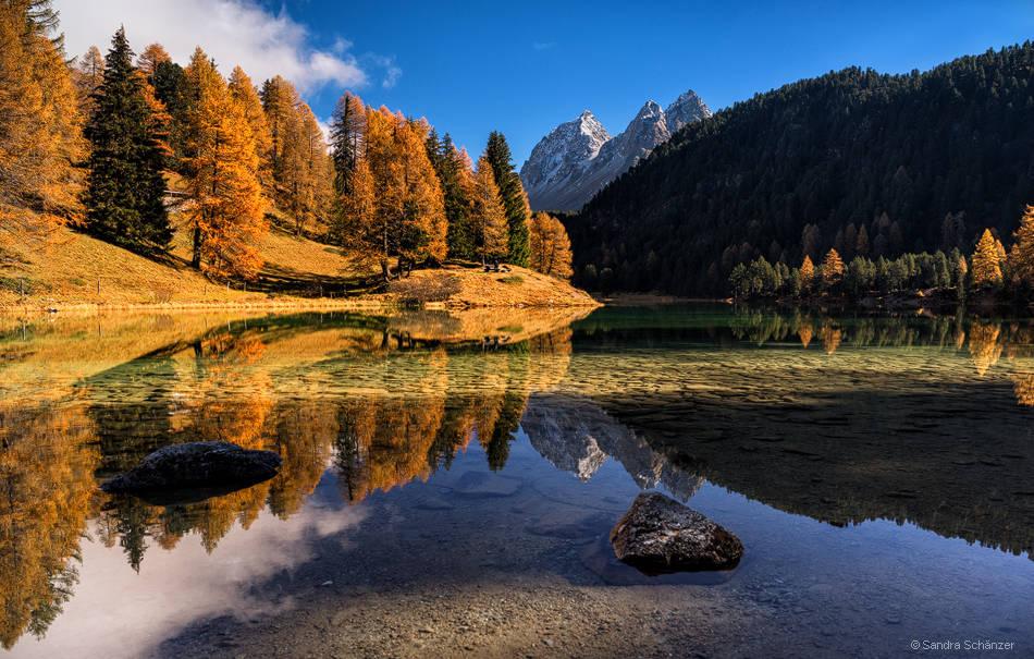 Lai da Palpuogna, Graubünden, Switzerland