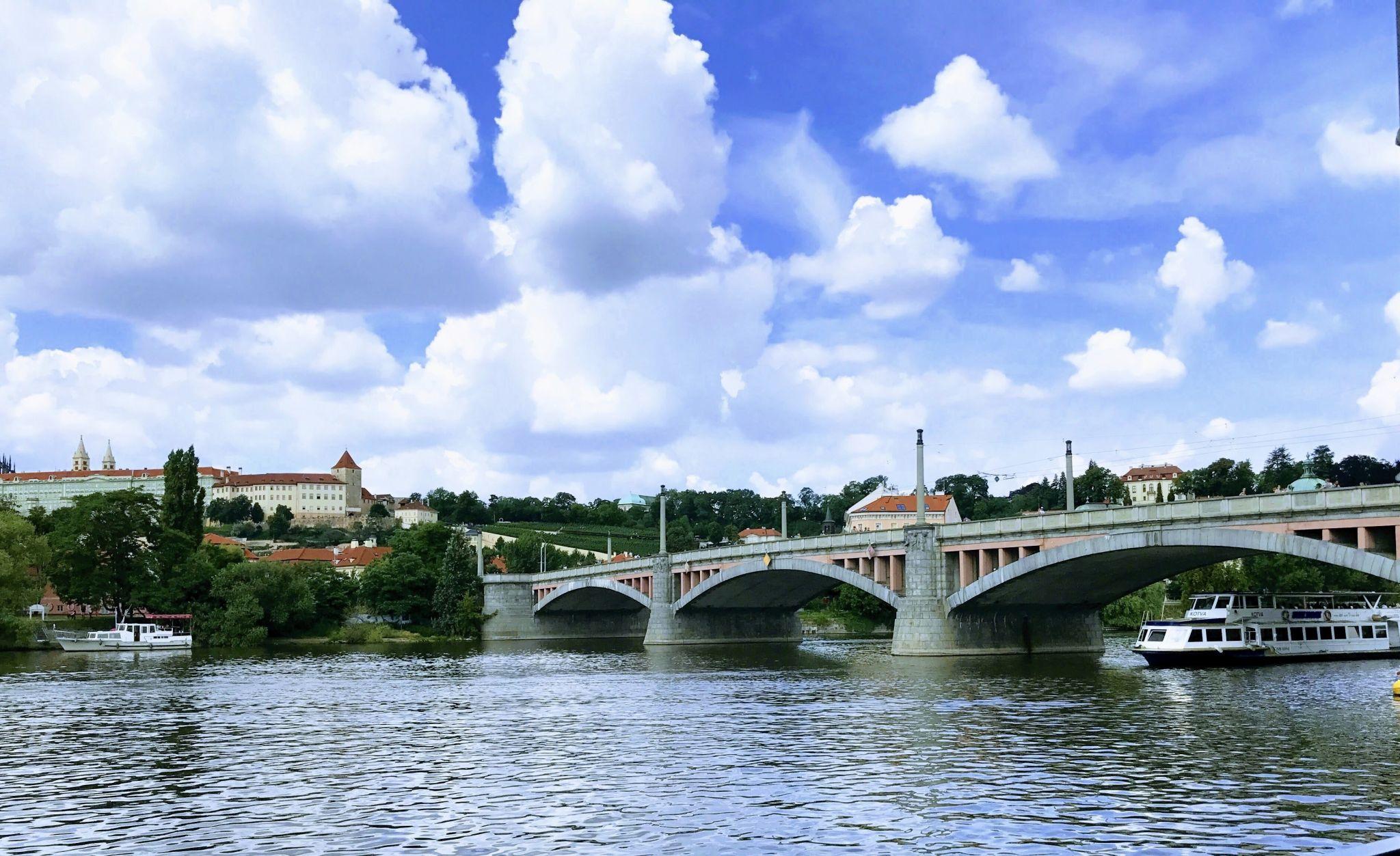 Mánesův Bridge, Prague, Czech Republic