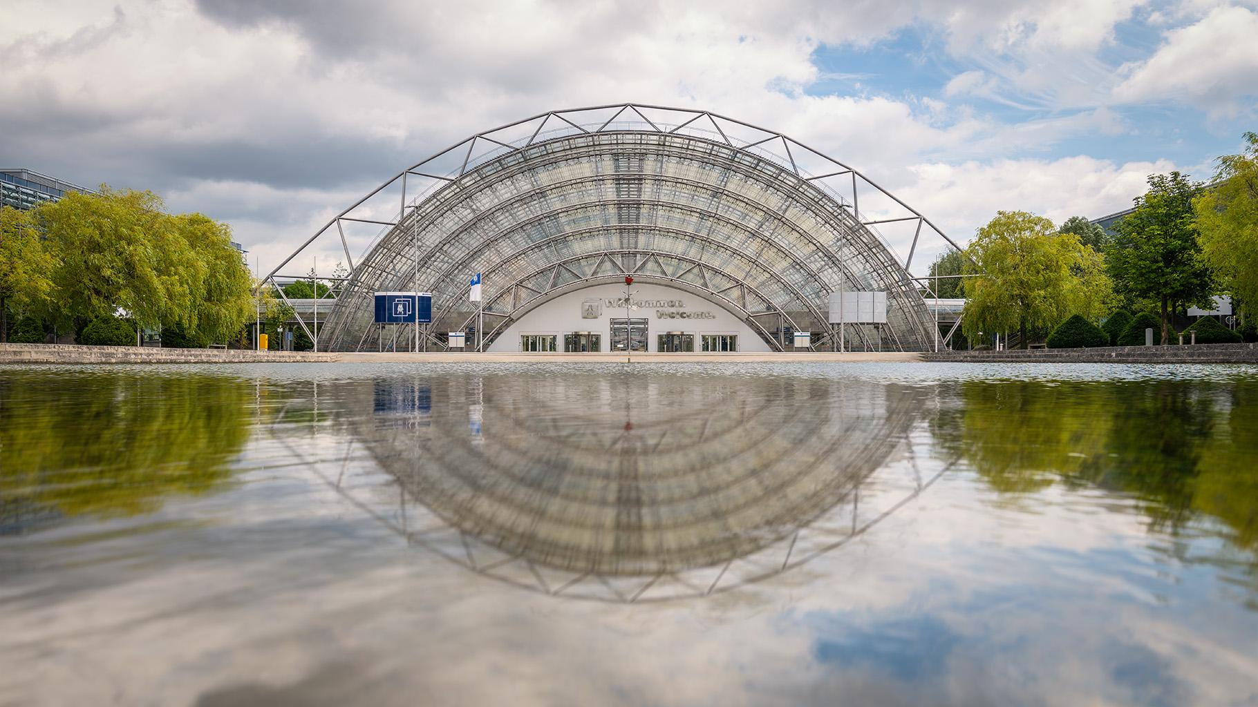Lake Mercury at Leipzig Exhibition Center, Germany