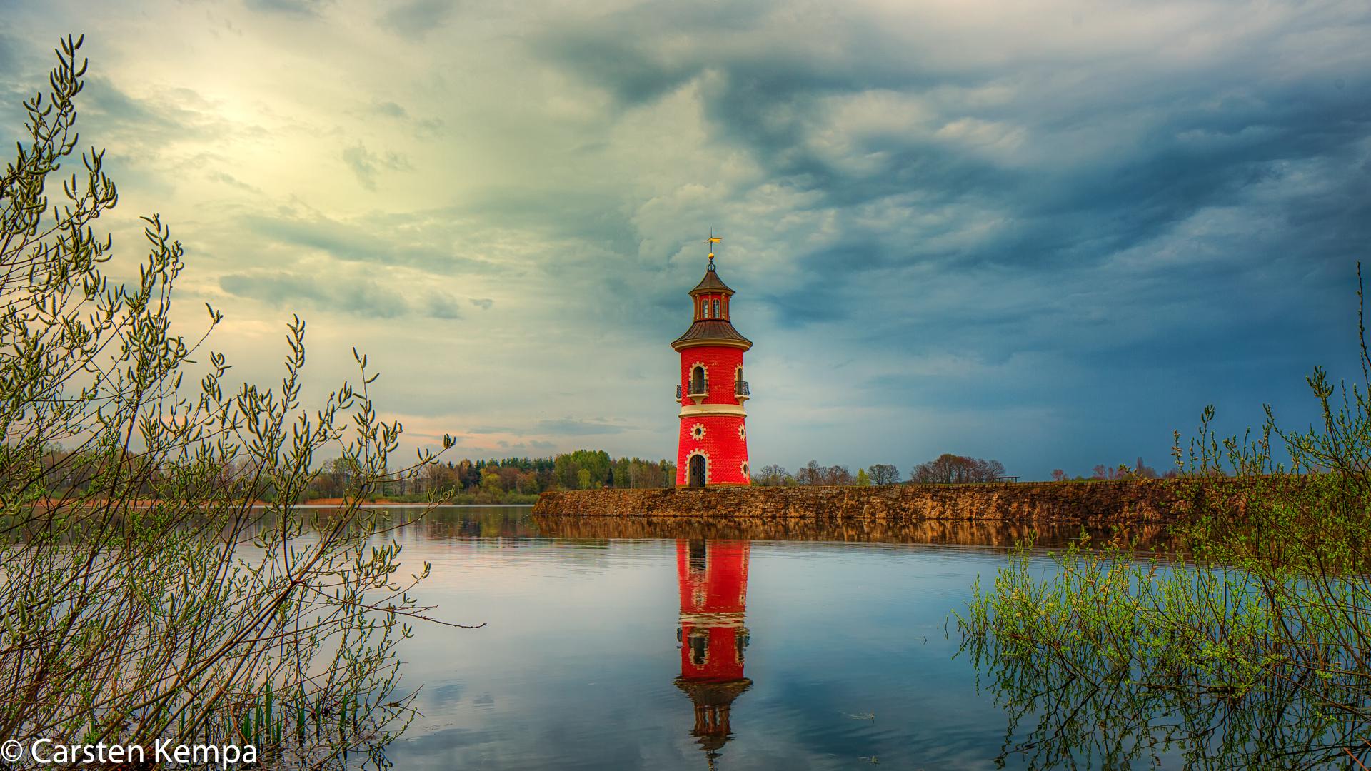 Moritzburg Lighthouse, Germany