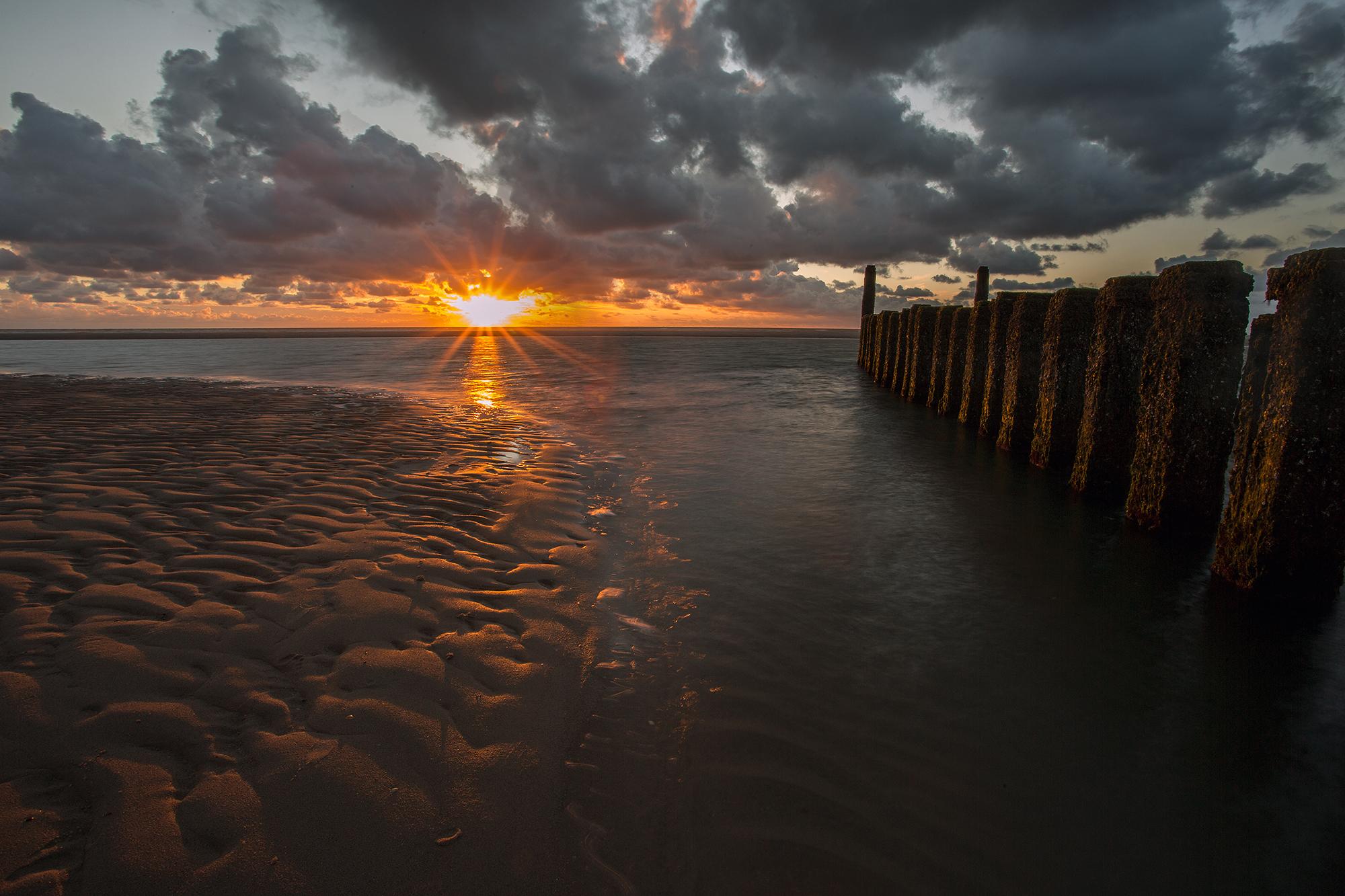 Oostkapelle Beach, Netherlands