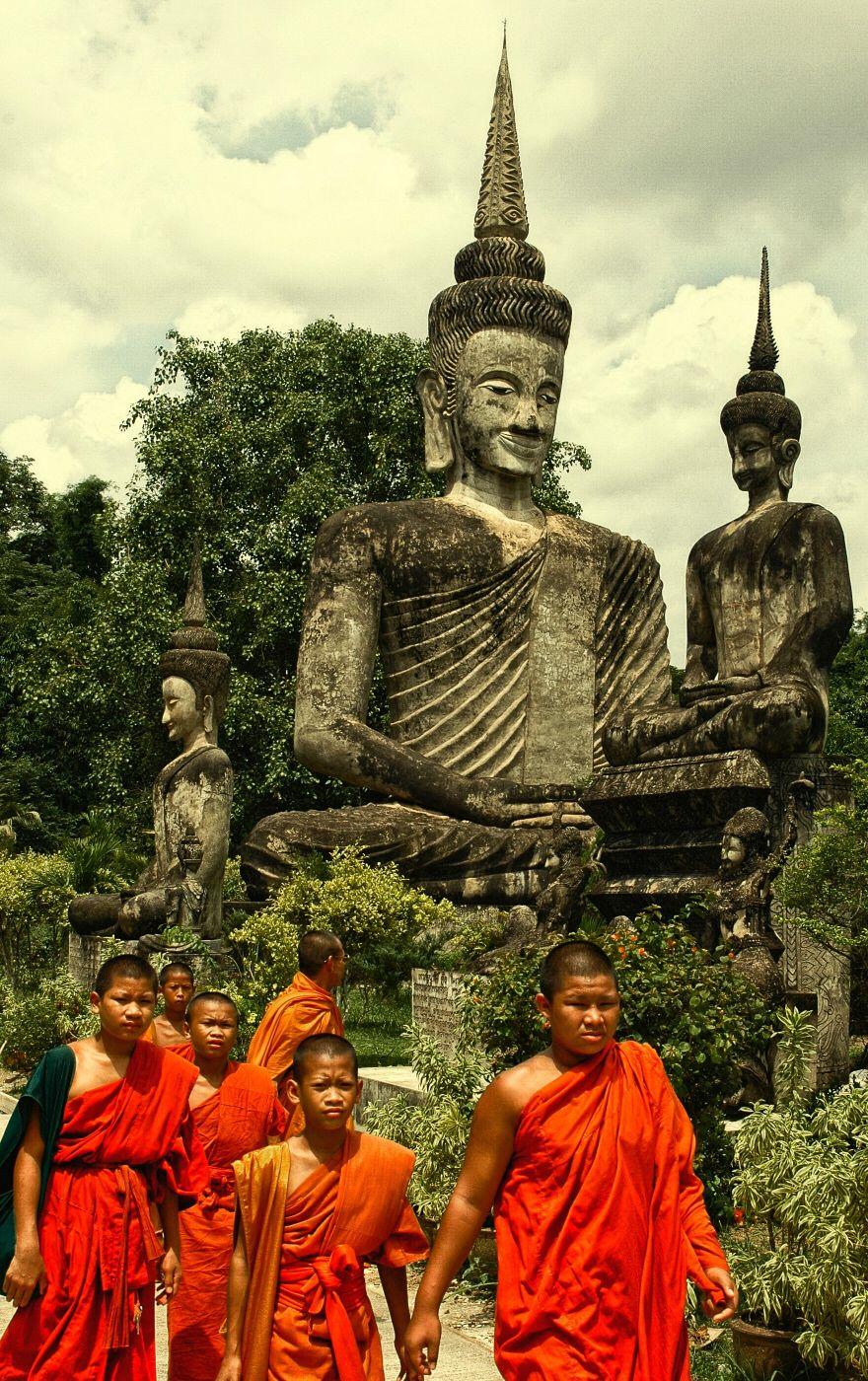 Sala Kaew Ku Buddha Park, Thailand