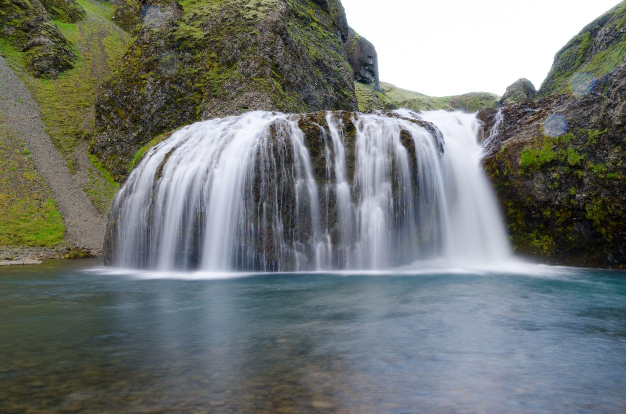 Stjornarfoss waterfall, Iceland