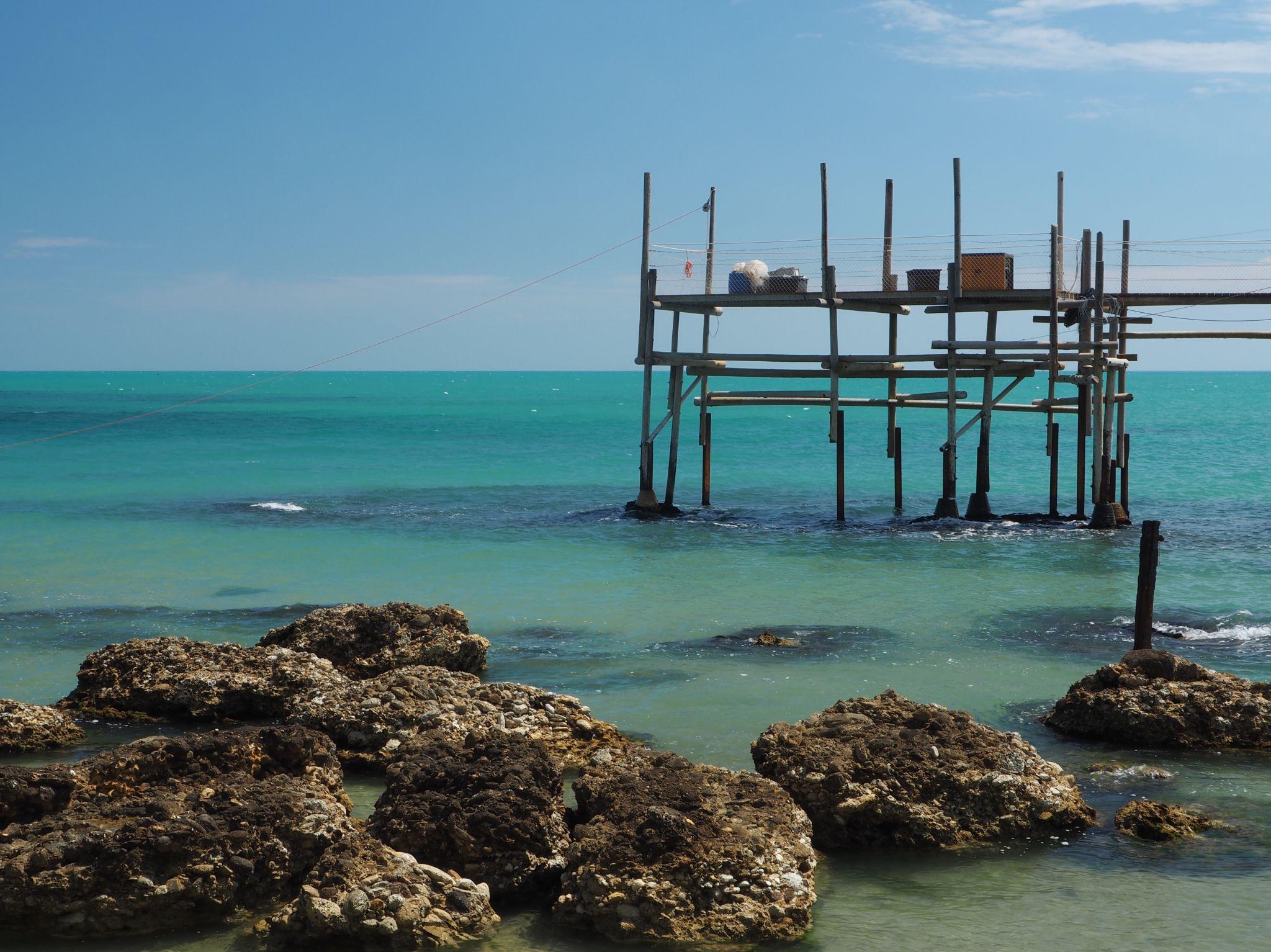 Vasto Along the Adriatic Coast, Italy