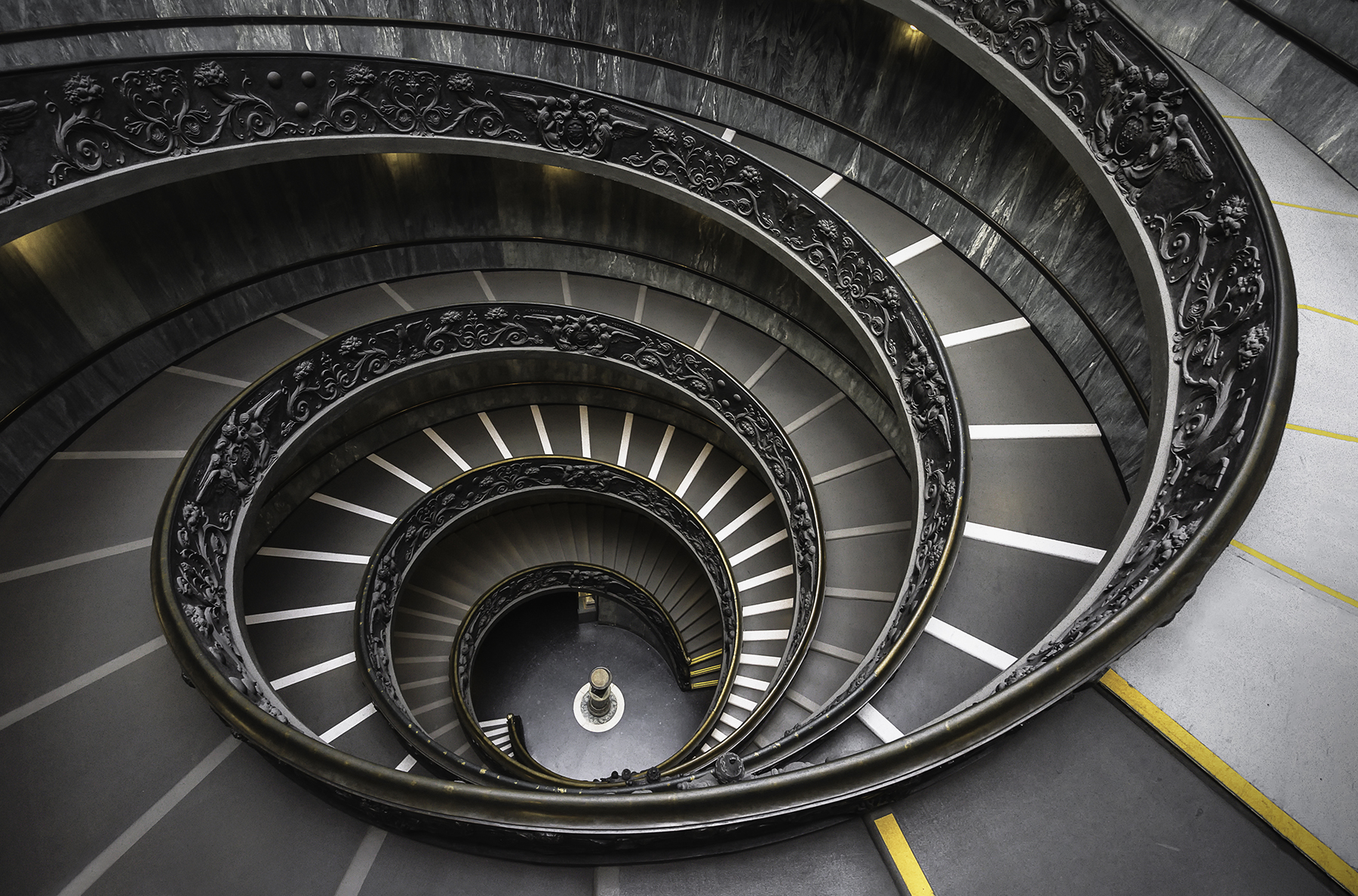 Vatican museum spiral staircase, Italy