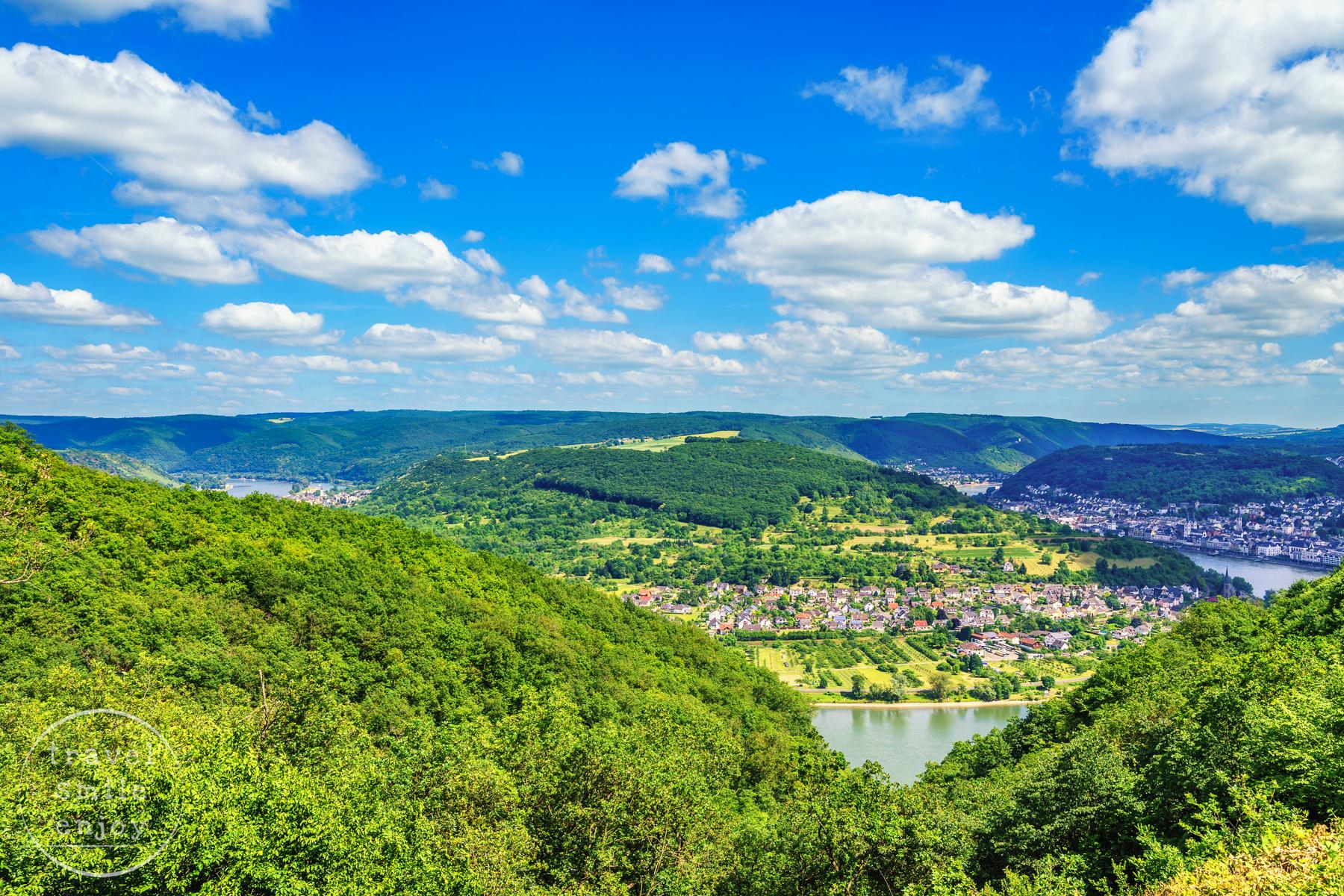 Vier-Seen-Blick Mittelrhein, Germany