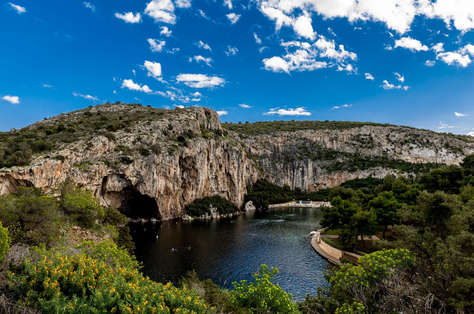 Vouliagmeni Lake, Greece