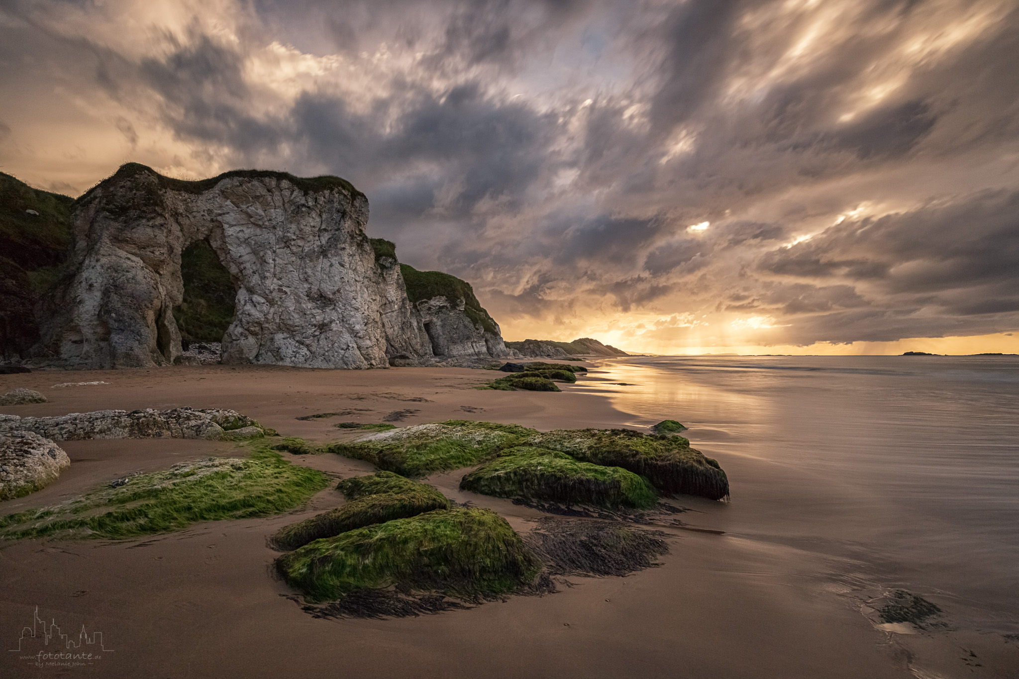 Whiterocks Beach sunset, United Kingdom