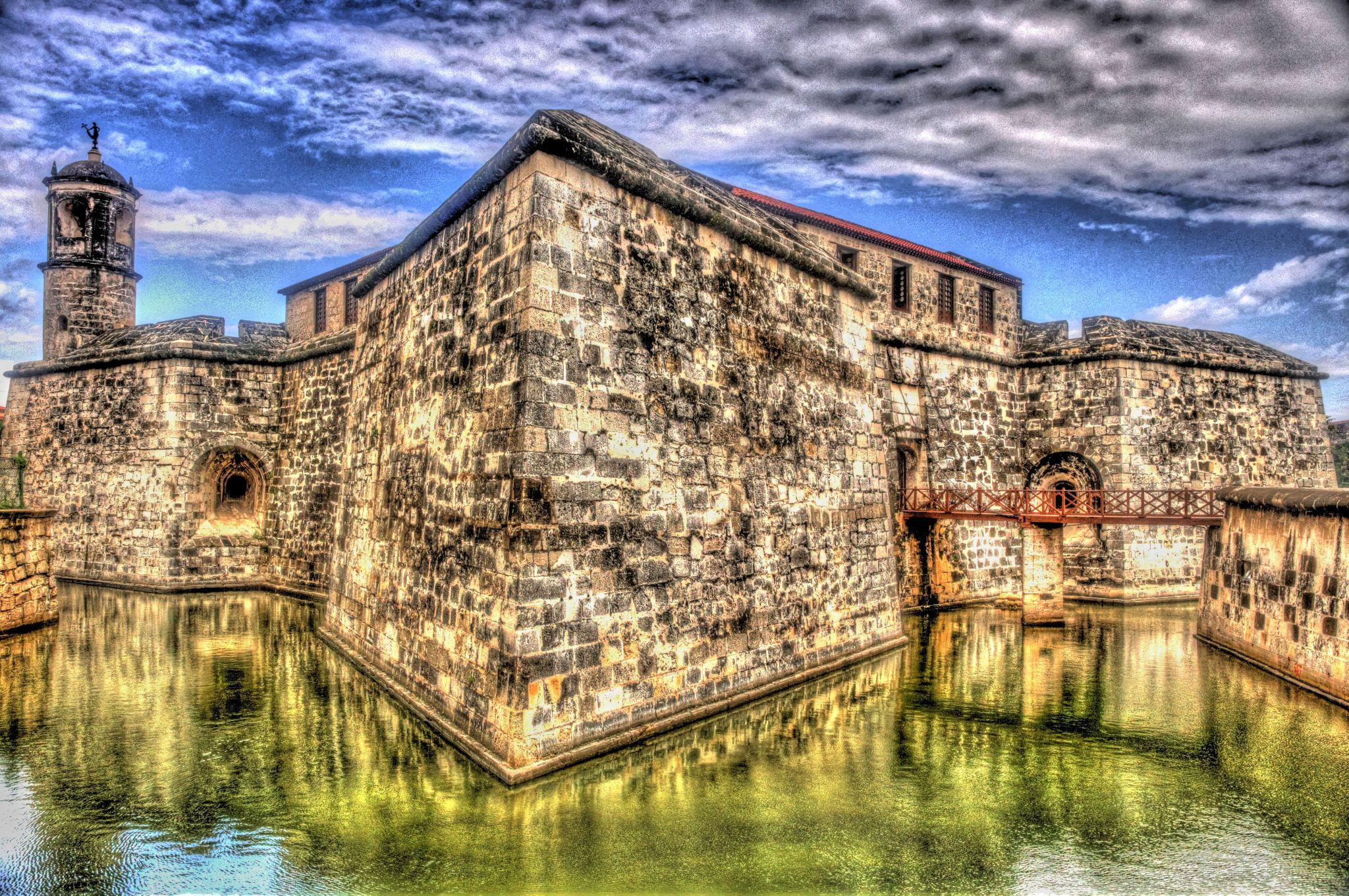 Castillo de la Real Fuerza in Havana, Cuba, Cuba