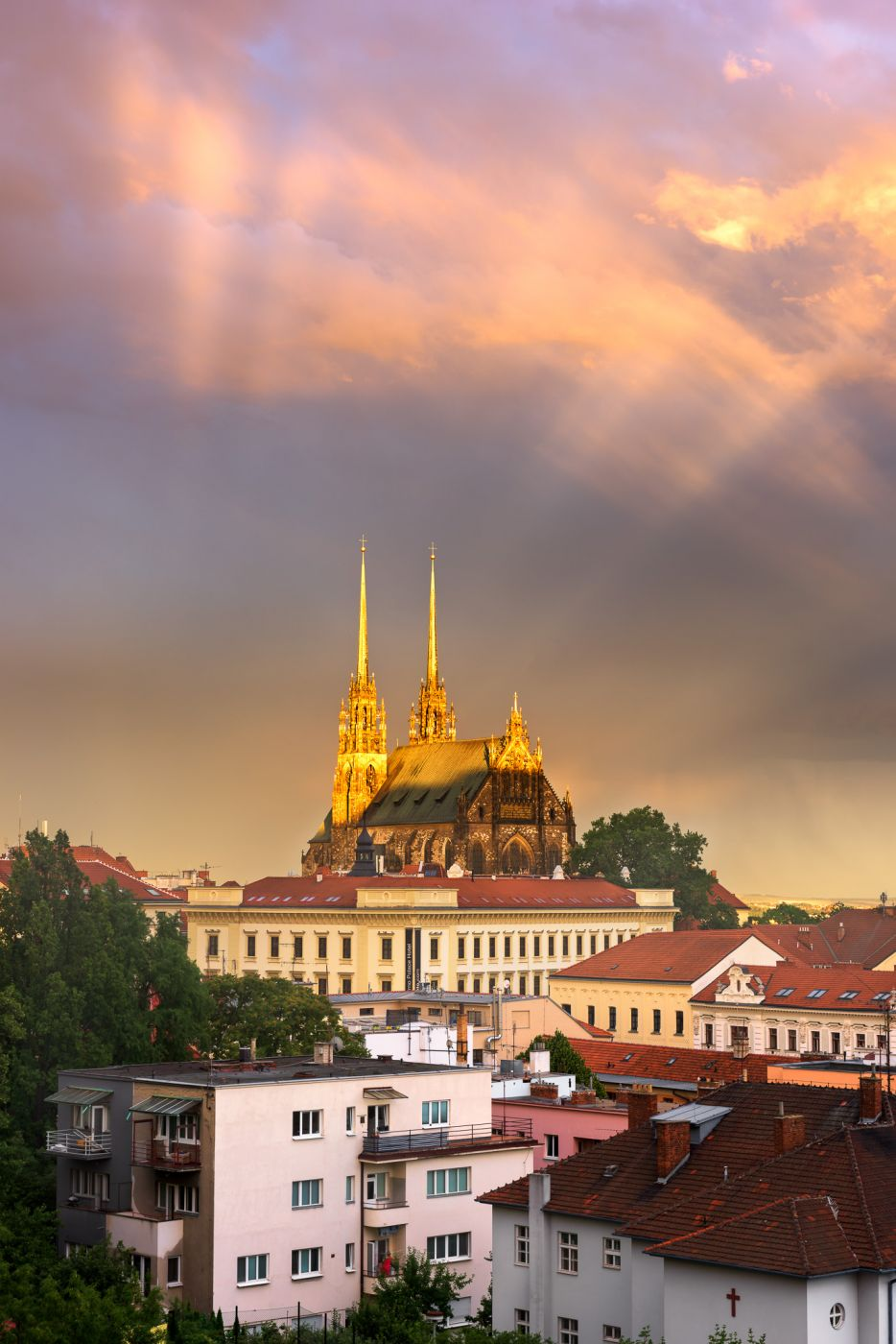 Cathedral of Saints Peter and Paul, Brno, Czech Republic, Czech Republic