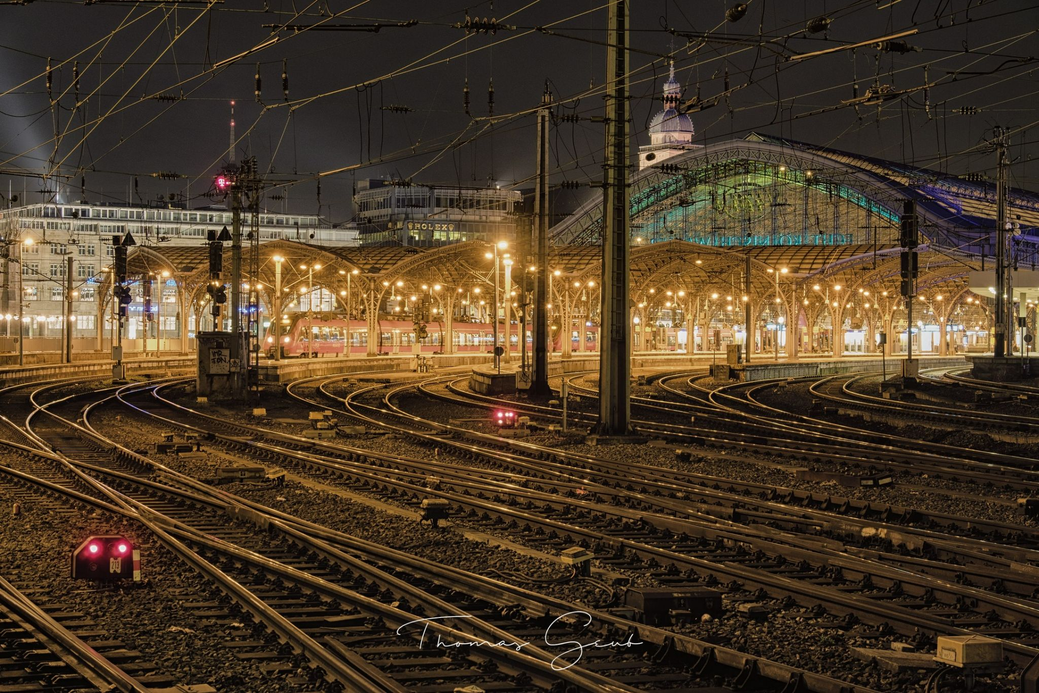 Cologne Central Station, Germany