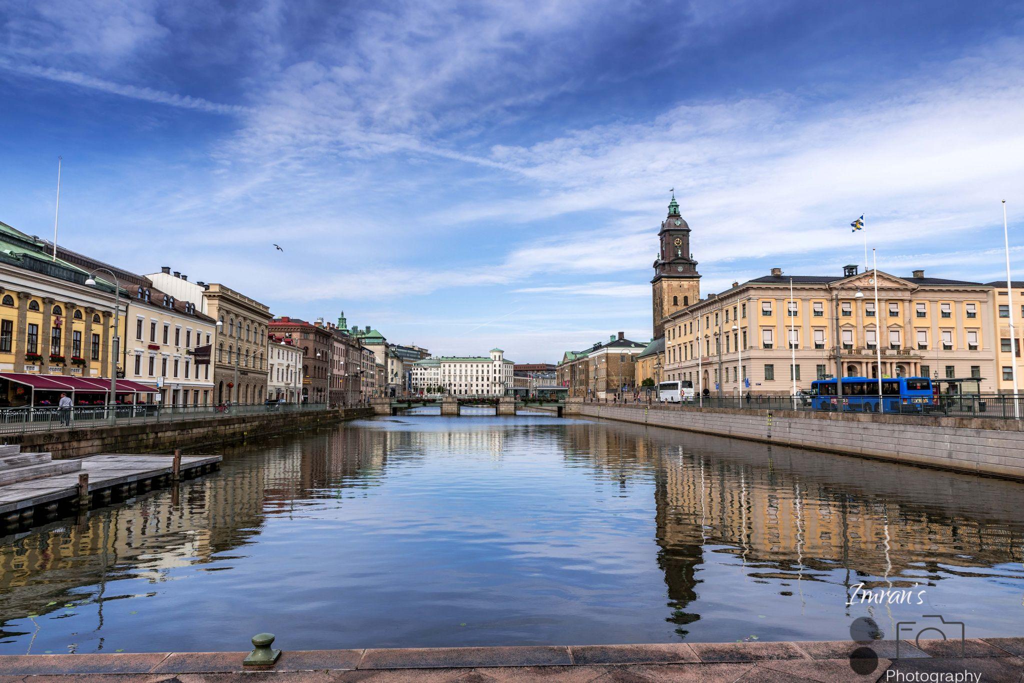 Gothenburg Canal View, Sweden
