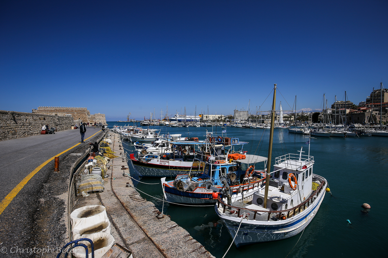 Heraklion Harbour, Greece