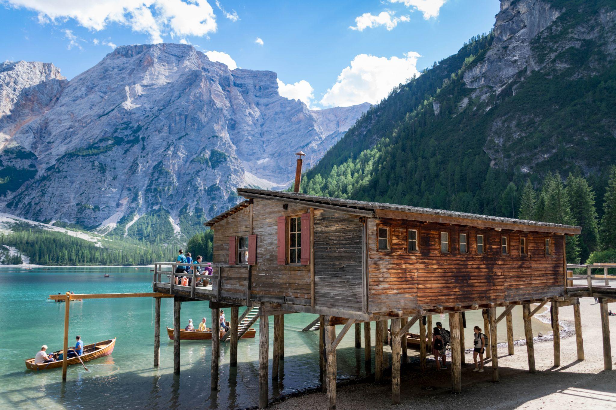 Lago di Braies, Dolomites, Italy